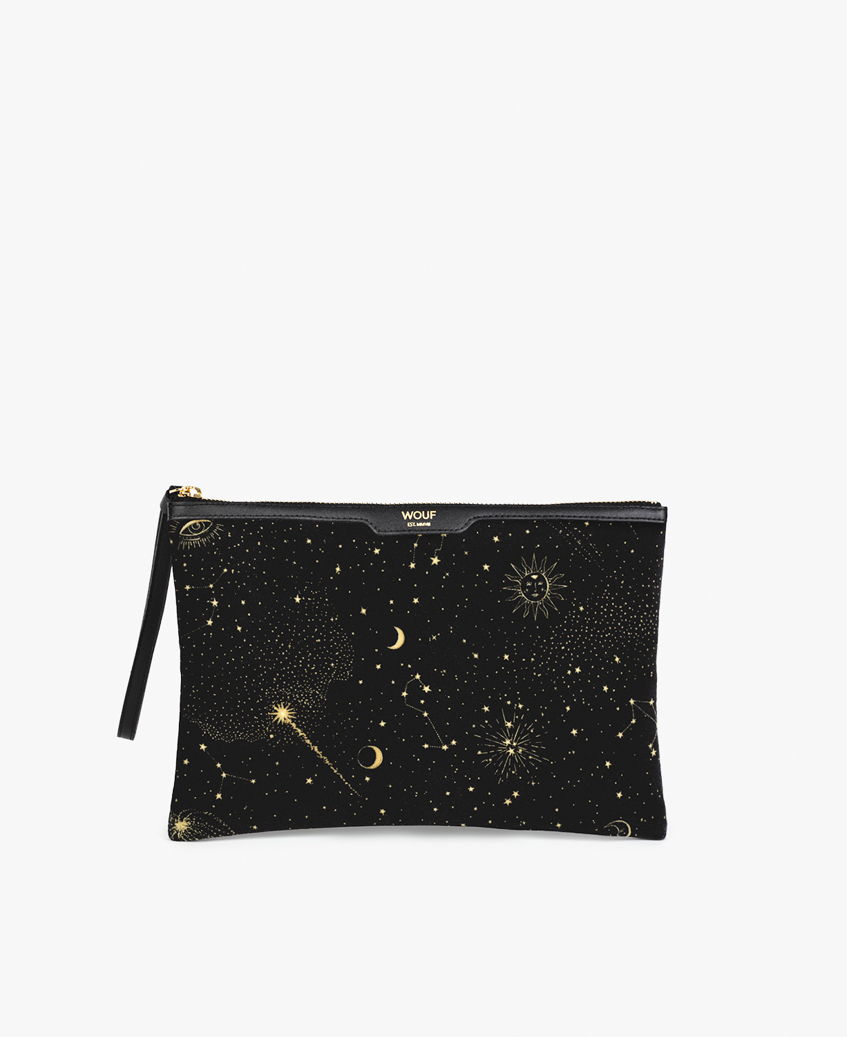 Galaxy Velvet Night Clutch