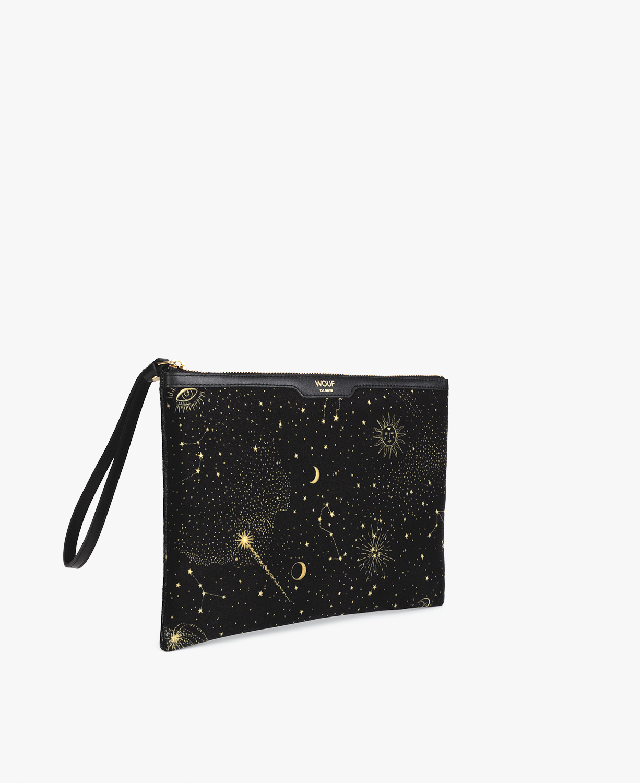 Galaxy Velvet Night Clutch