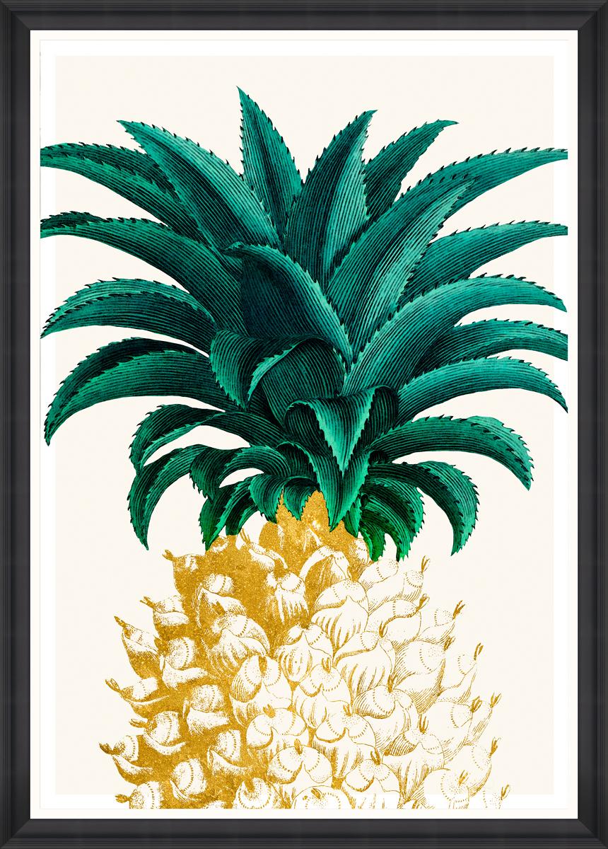 PINEAPPLE SWEET Framed Print
