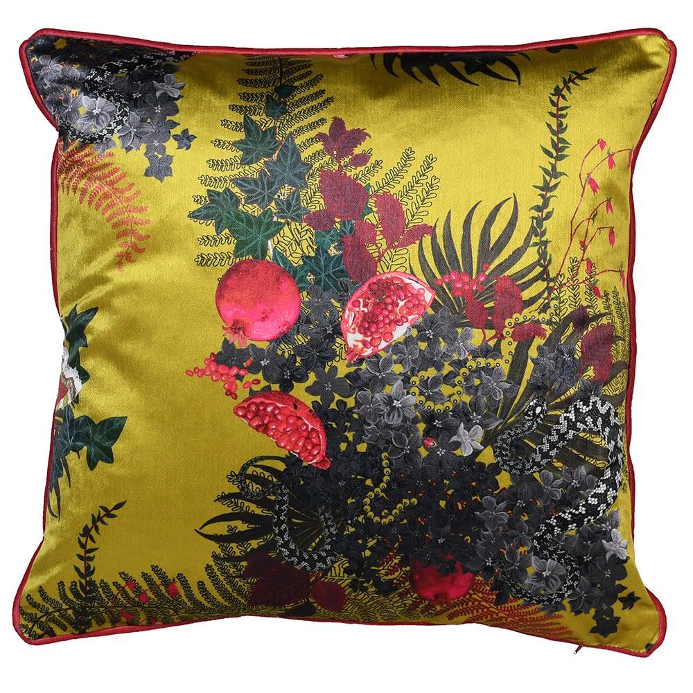 Mustard Forest Cushion