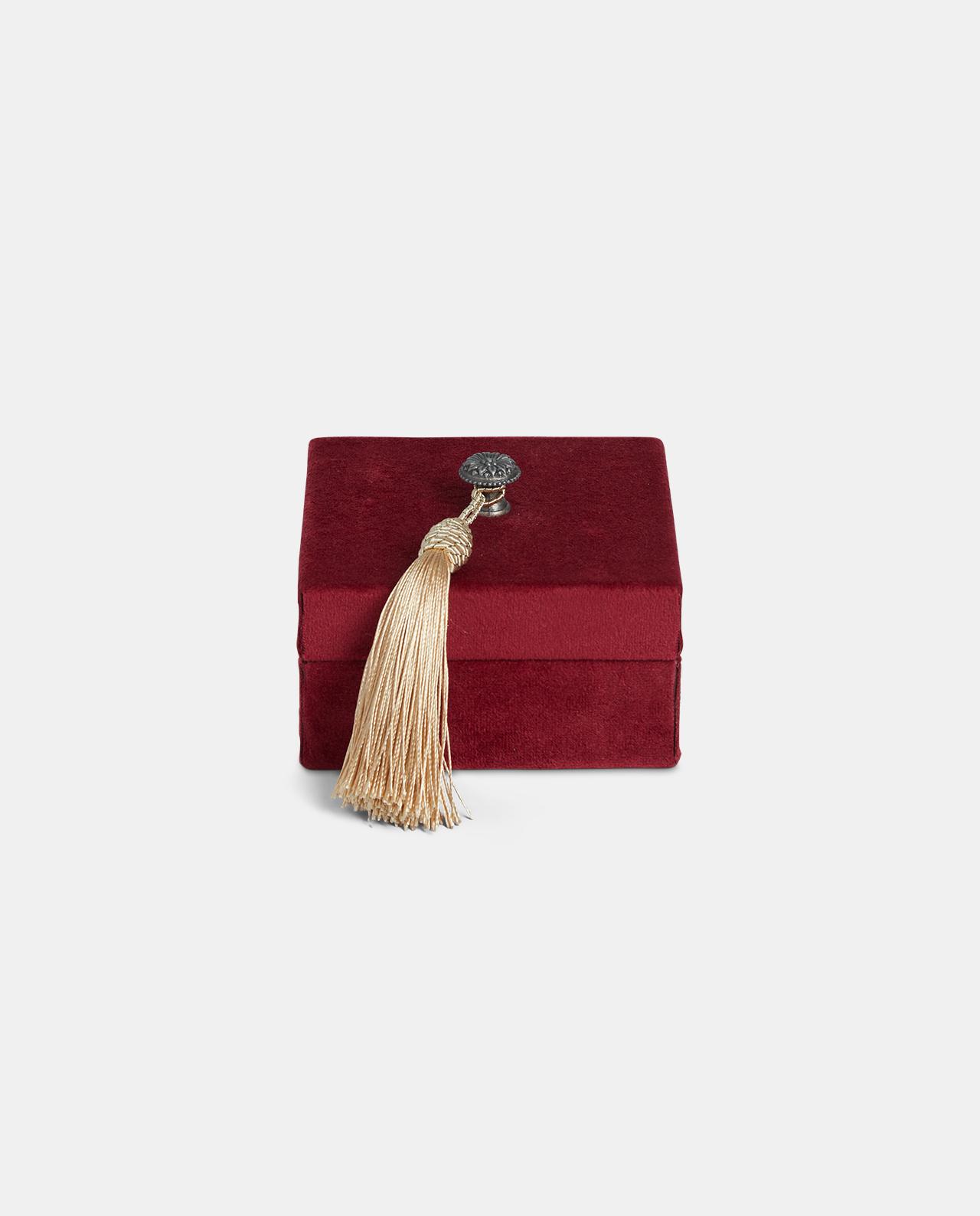 Small Red Velvet Decorative Box