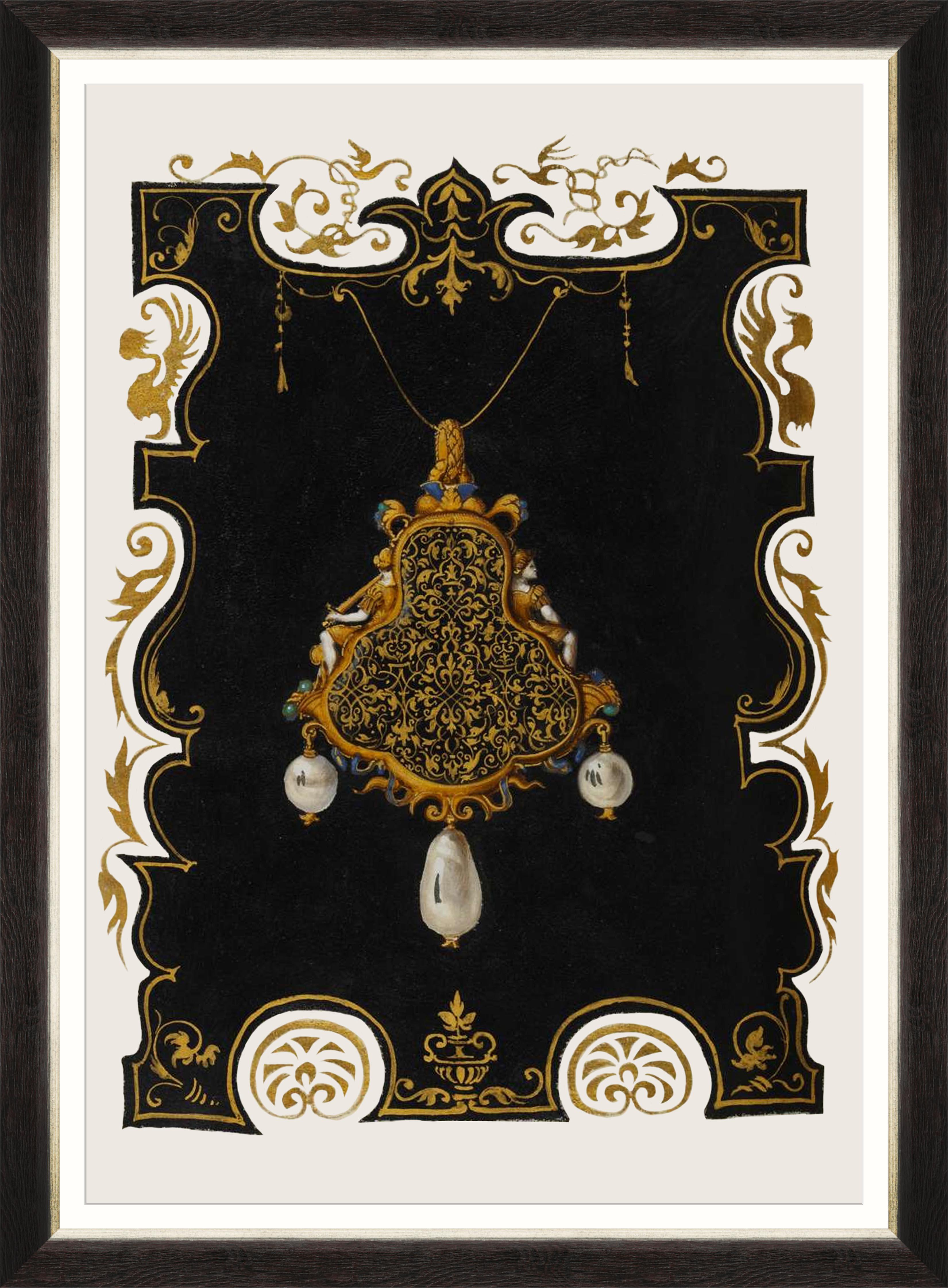 ANNA'S JEWELRY IV Framed Print