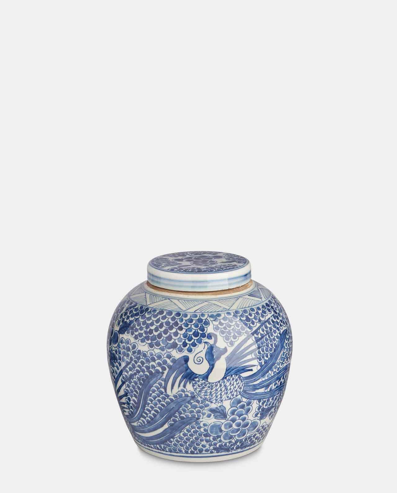 Blue & White Porcelain Jar No 4