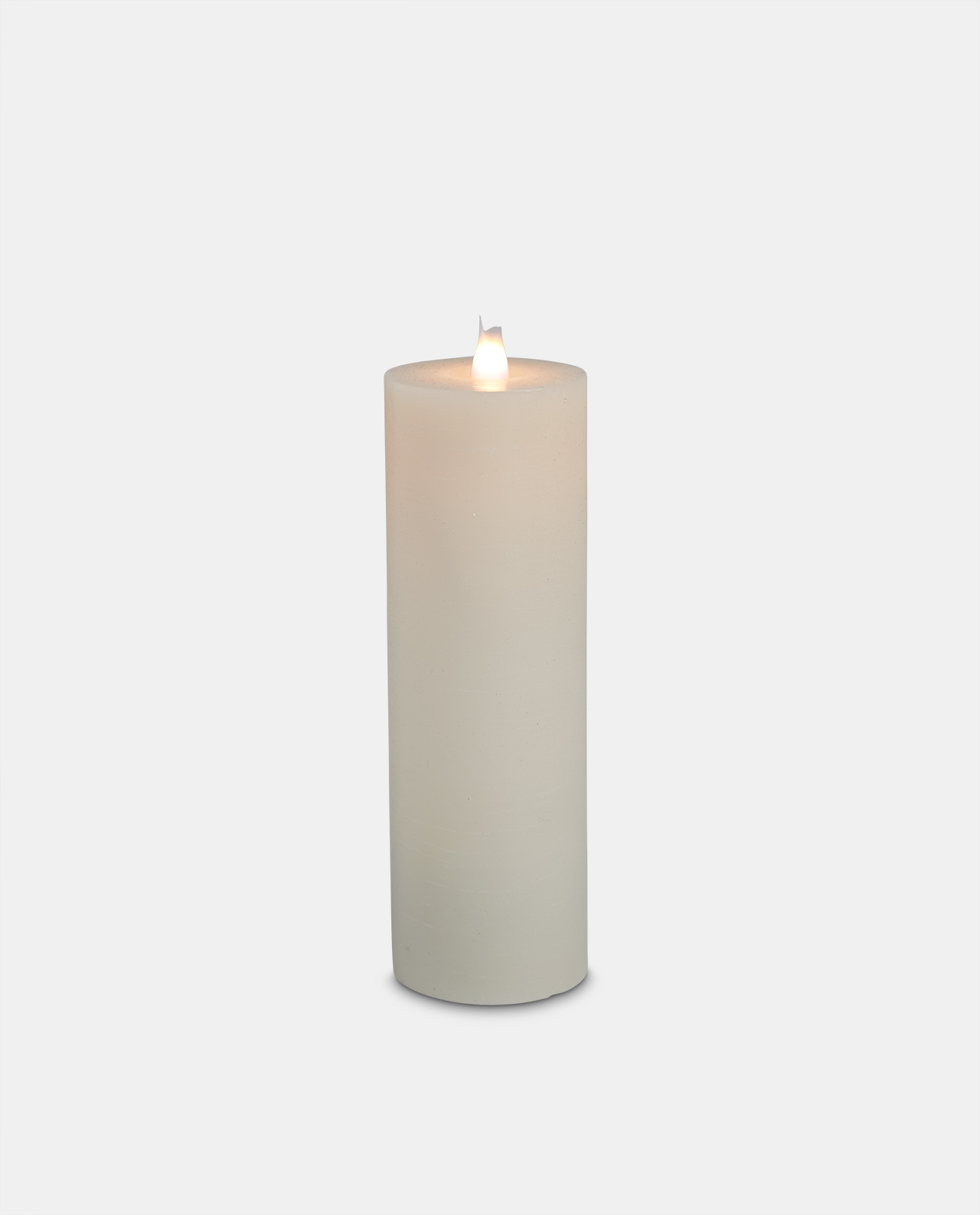 Ivory Wax LED Candle 22cm