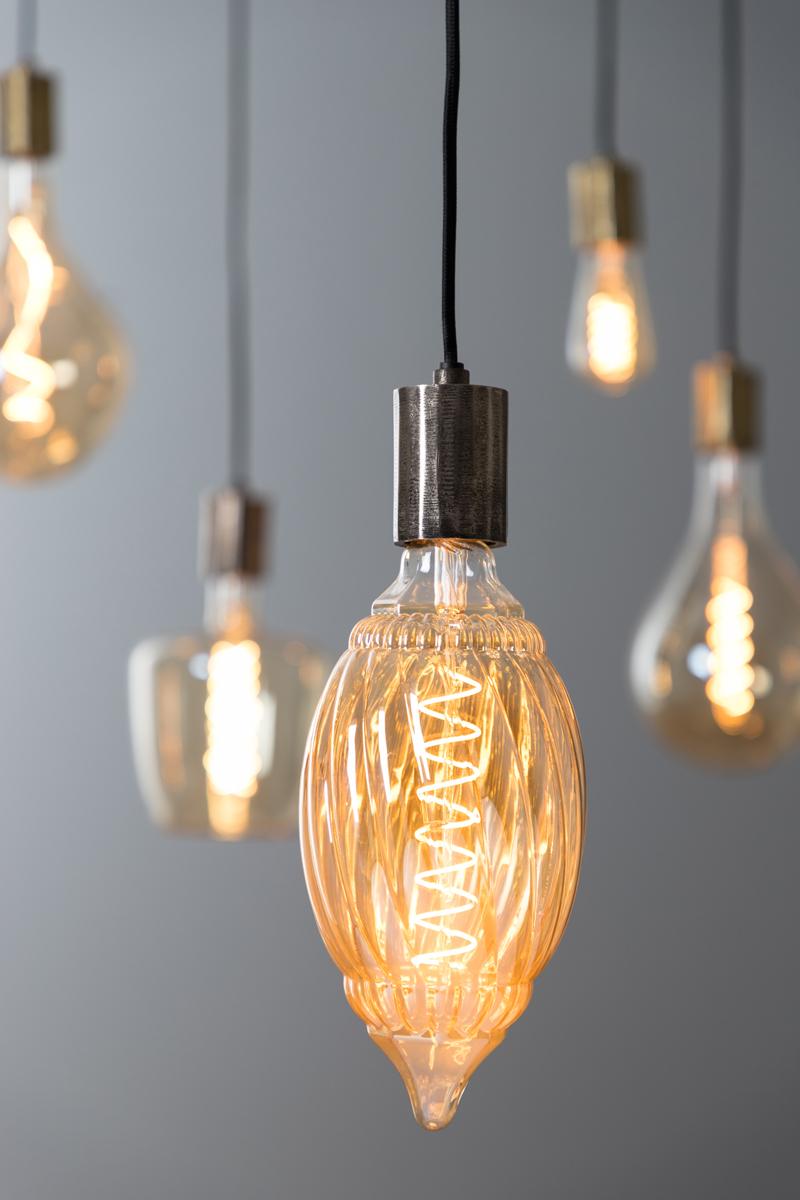 LED Amber BAROQUE Bulb