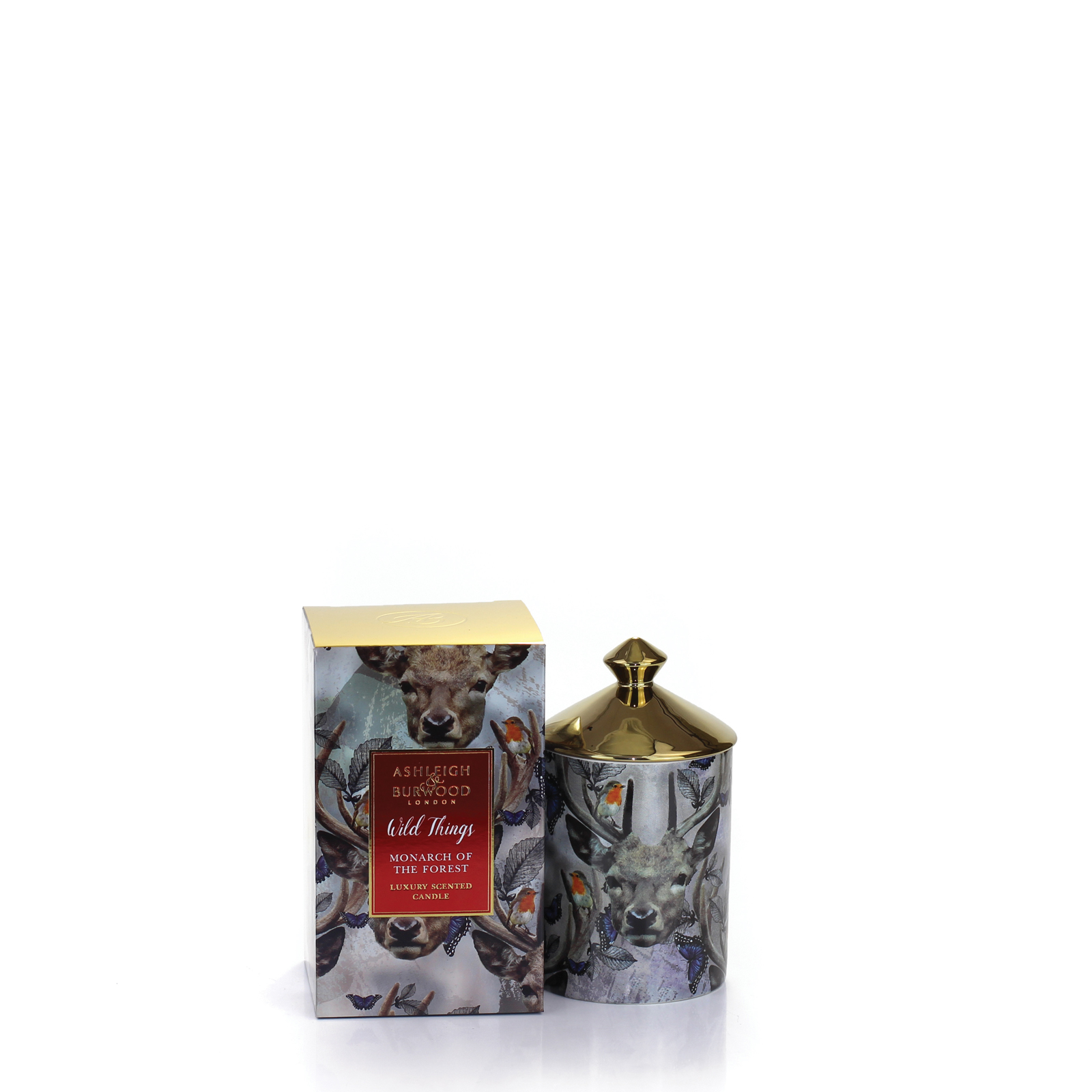 Wild Things Owl Night Long Candle