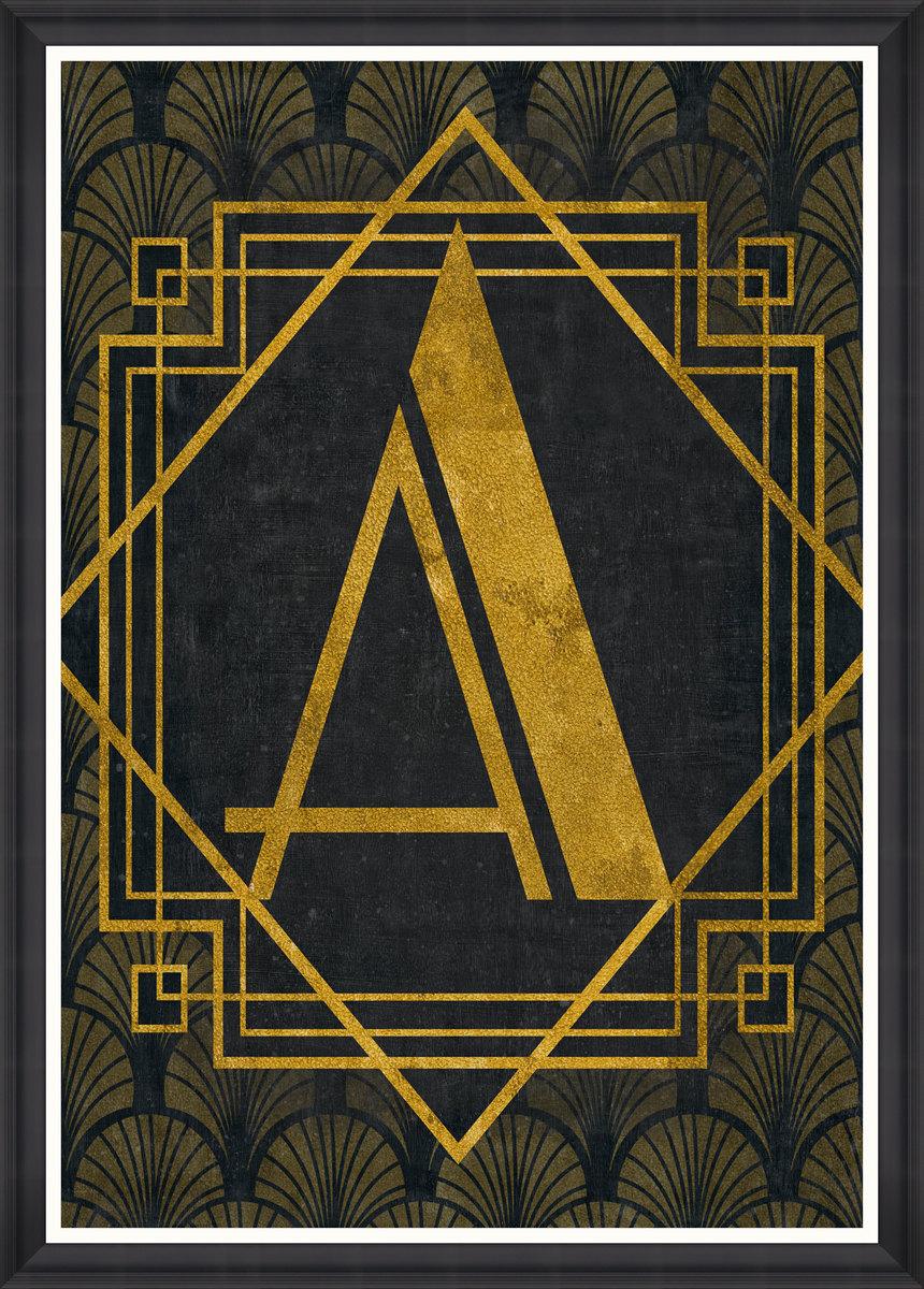 The A Framed Print