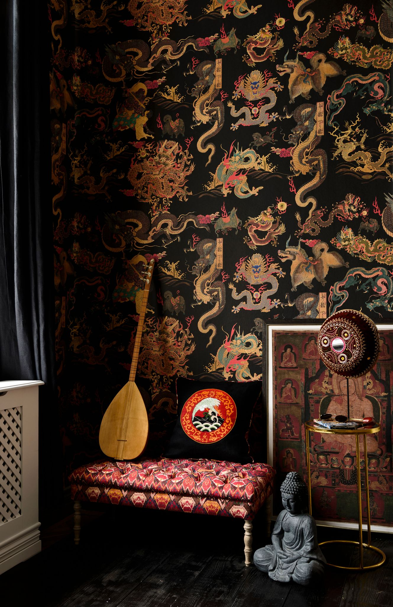 DRAGONS OF TIBET Wallpaper