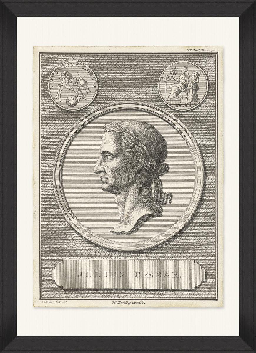 CESAR THE EMPEROR Framed Print