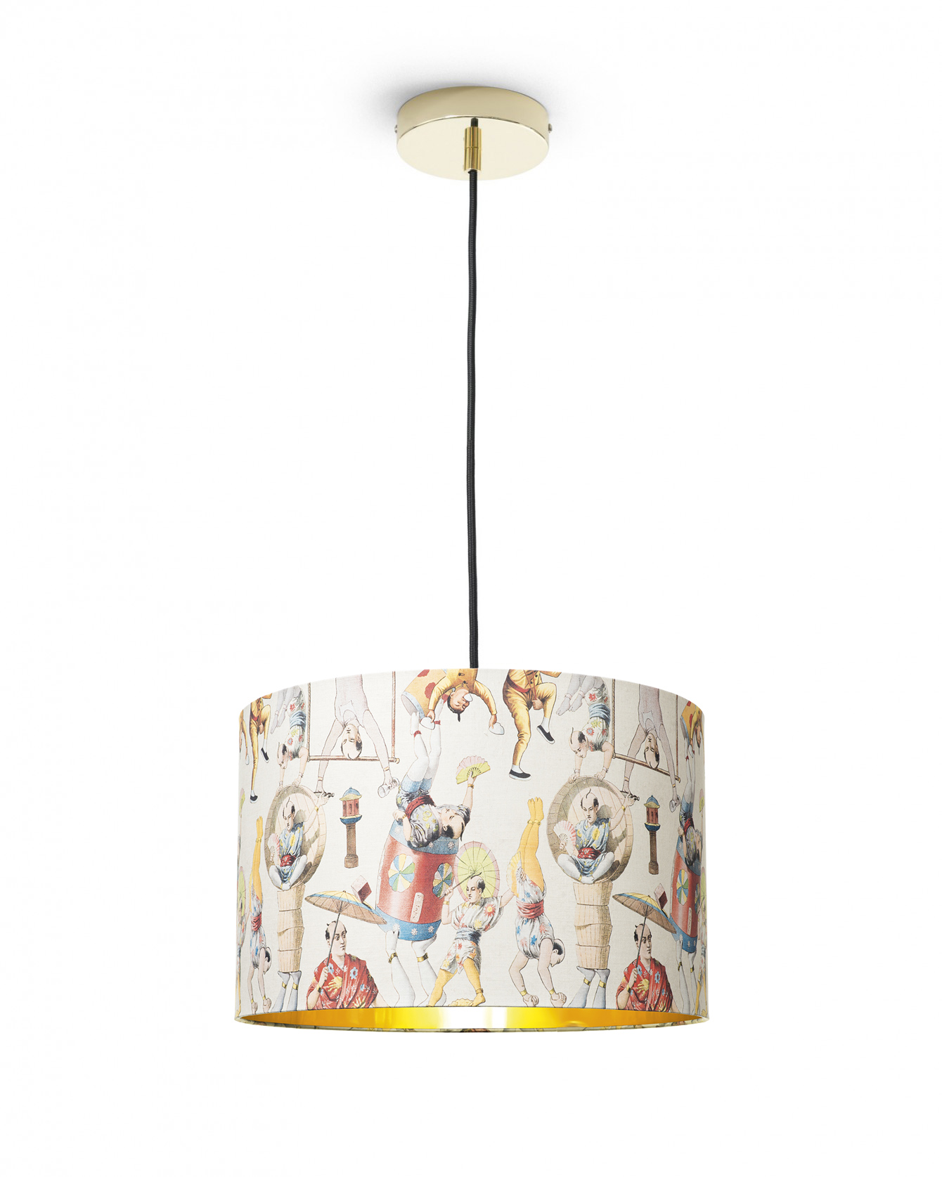Asian Circus Pendant Light