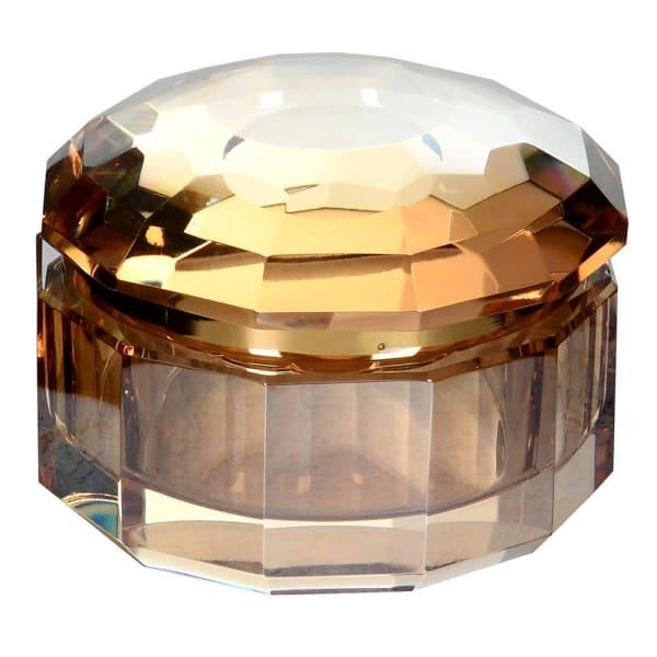 Amber Crystal Box Small