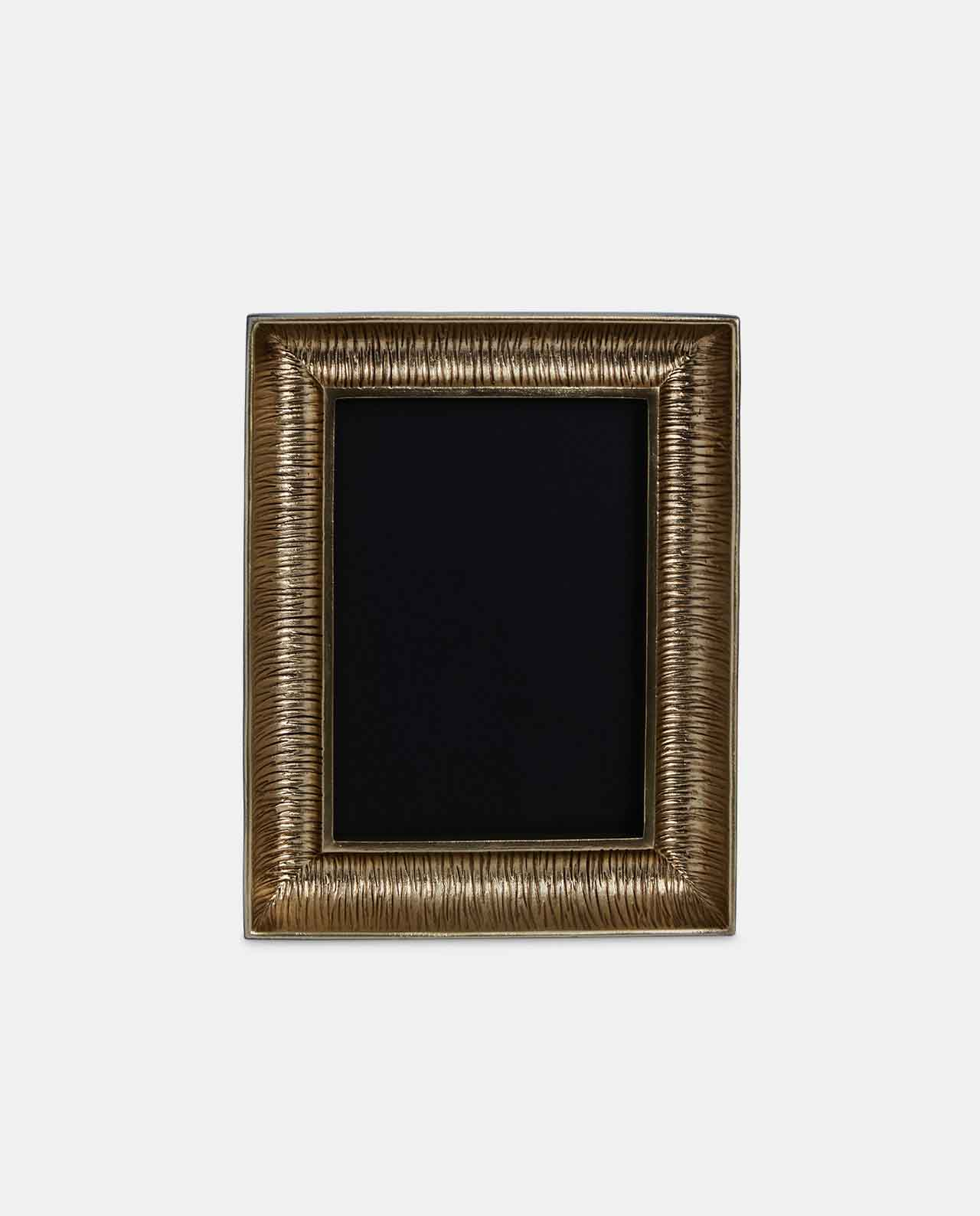Large Gold Decorative Curve Photo Frame