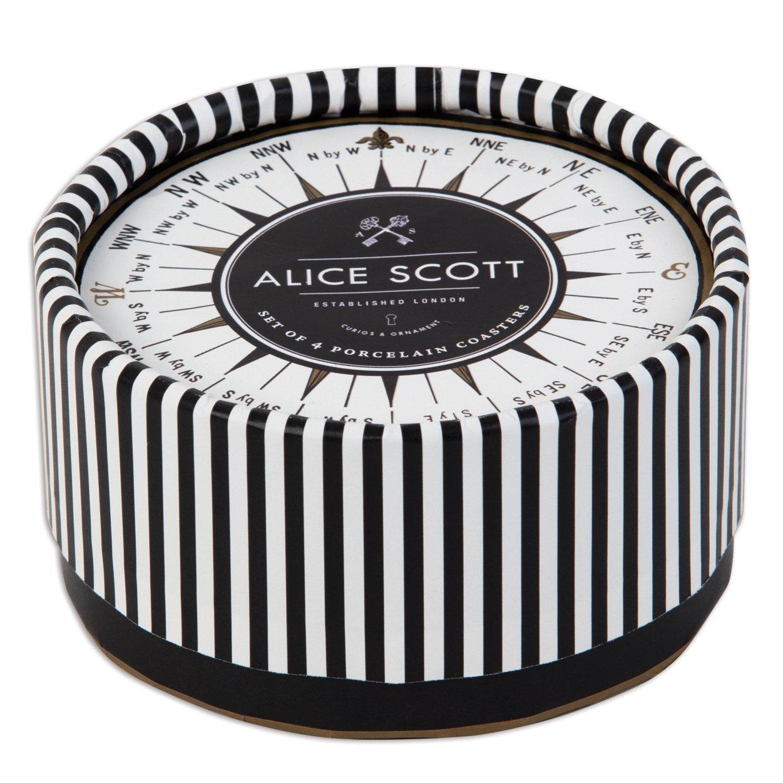 Alice Scott Coaster Set