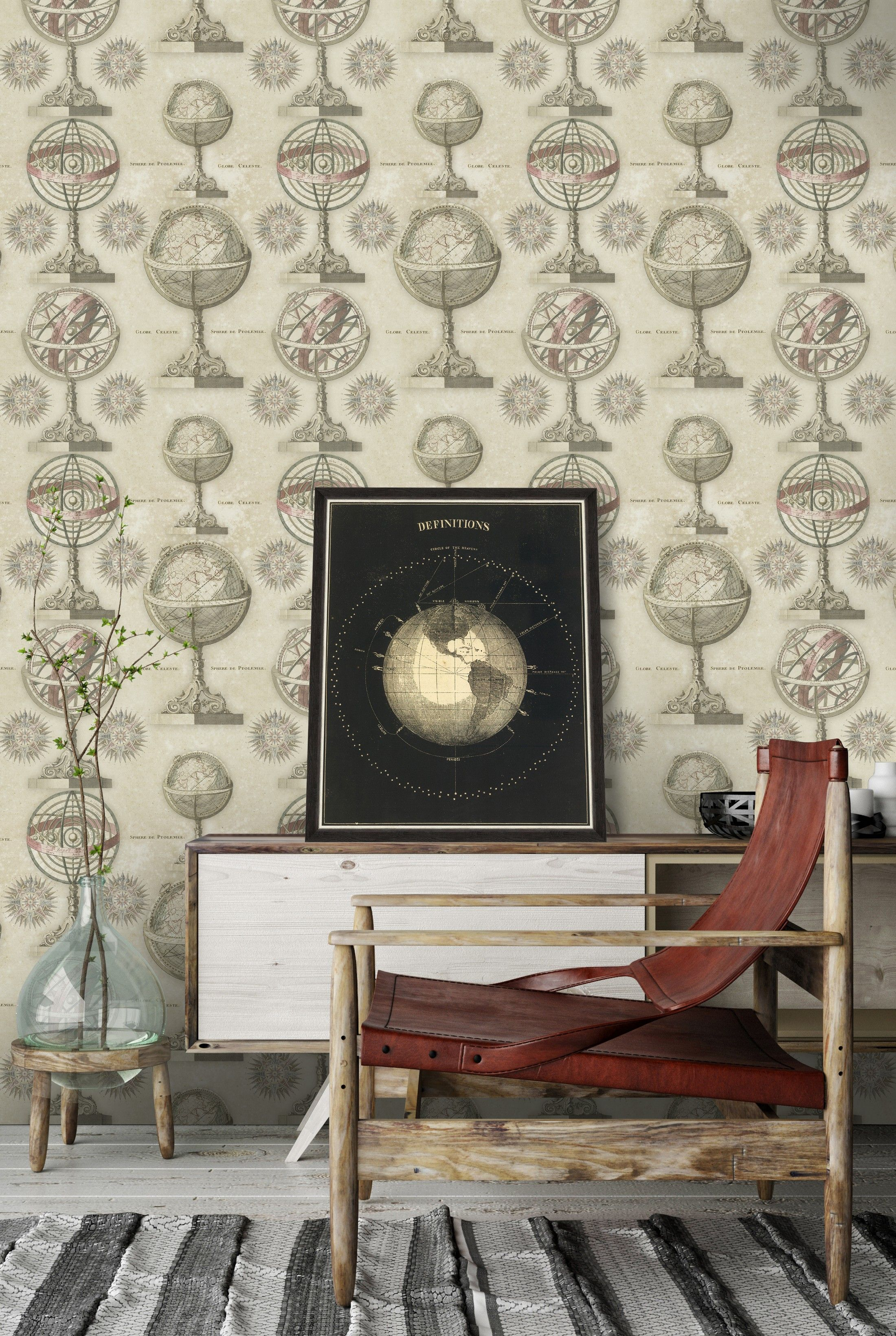 ARMILLARY Premium Wallpaper