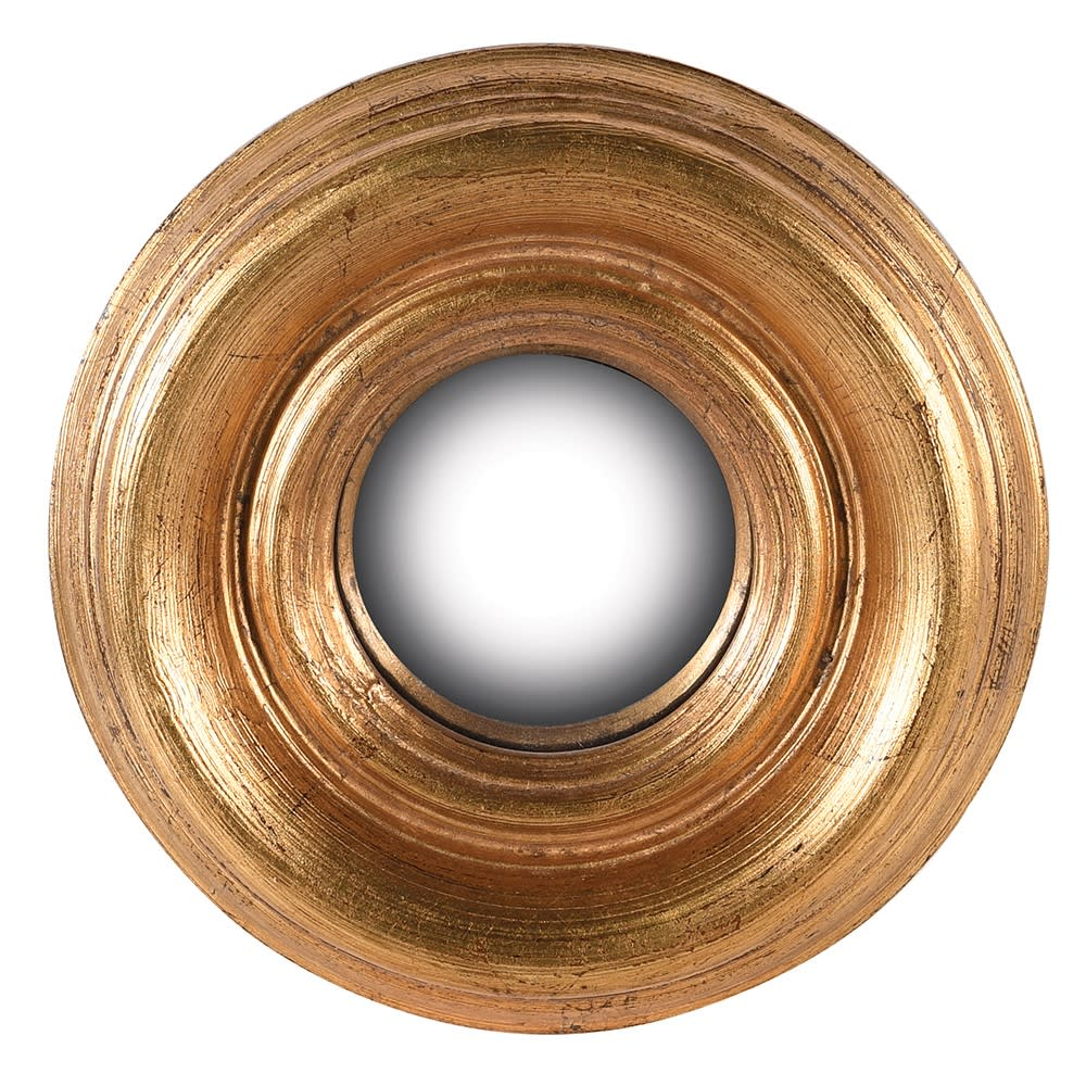 Atman Mini Gold Convex Mirror