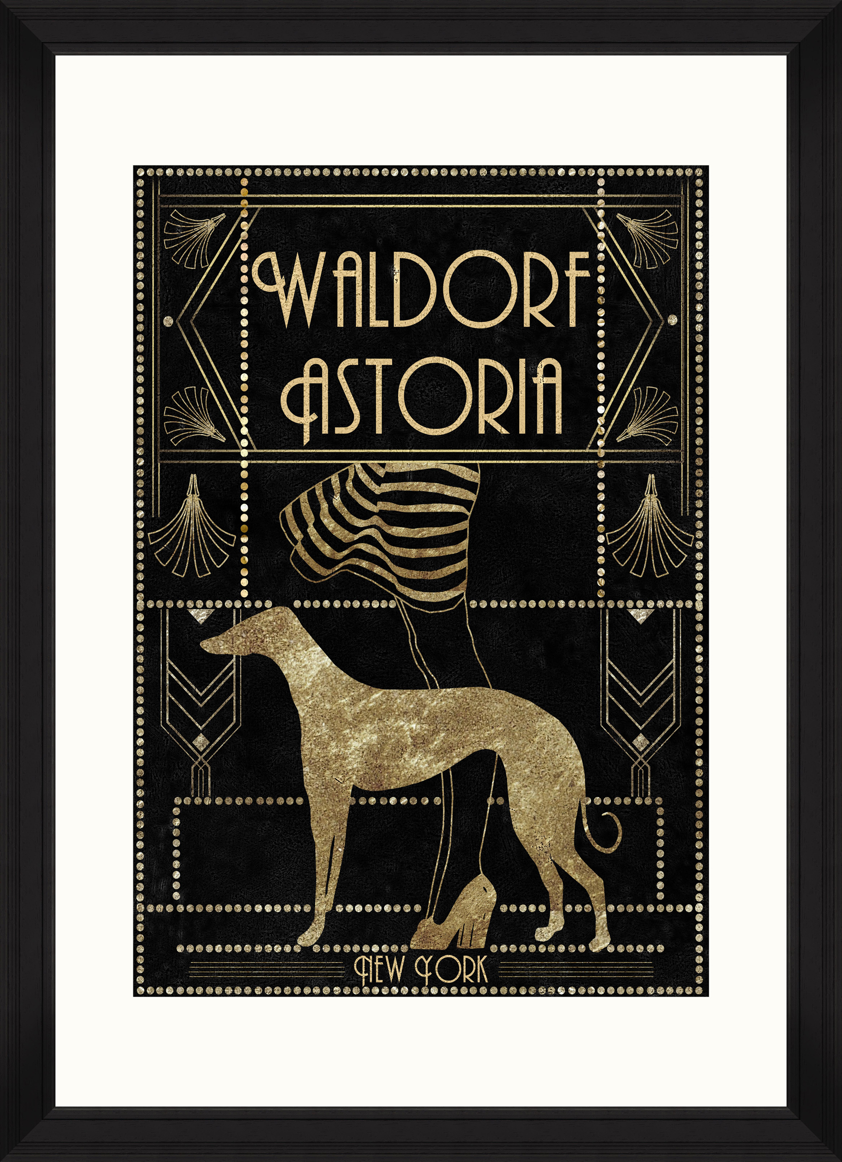 Waldorf Astoria Framed Print