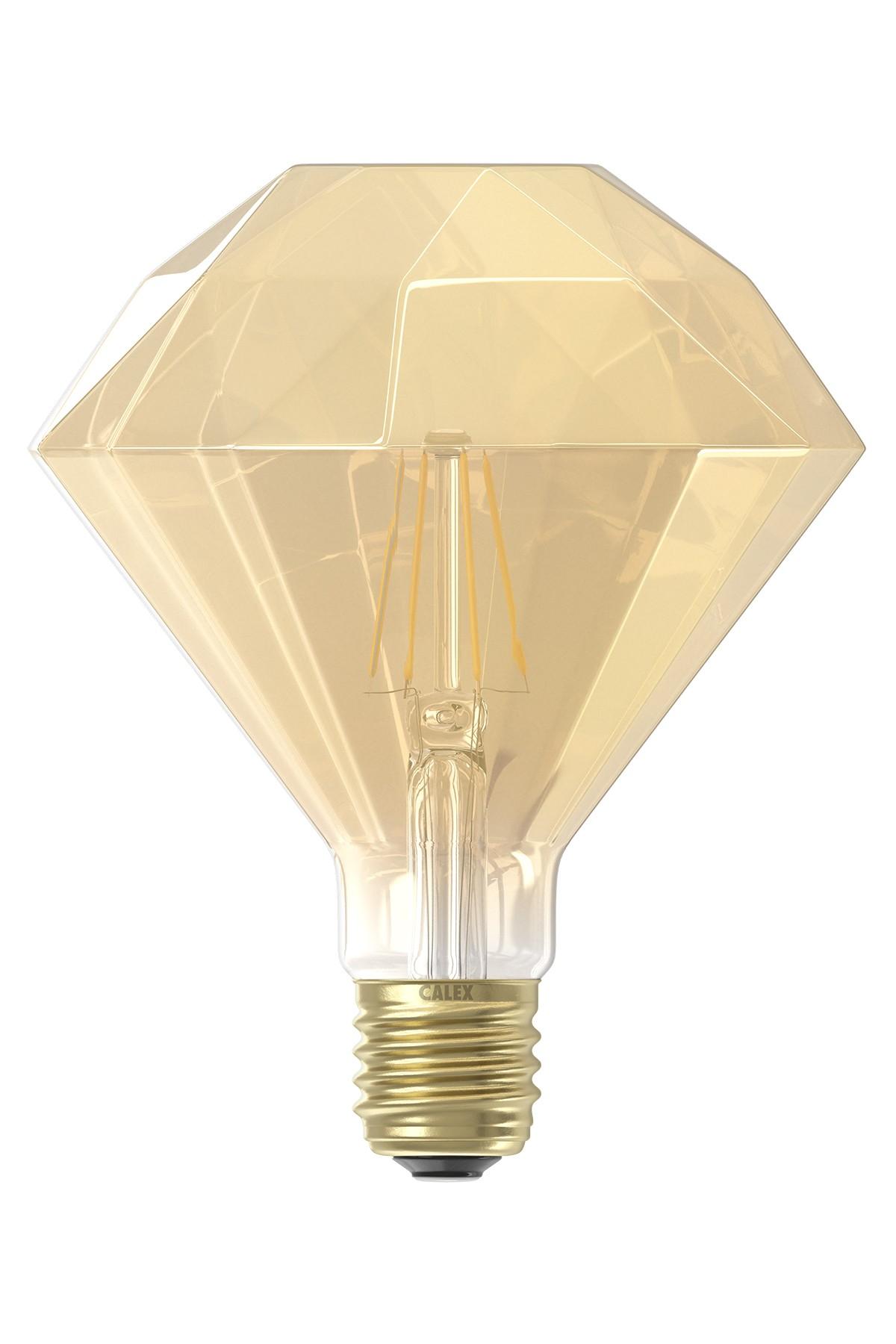 Gold Diamond LED Bulb