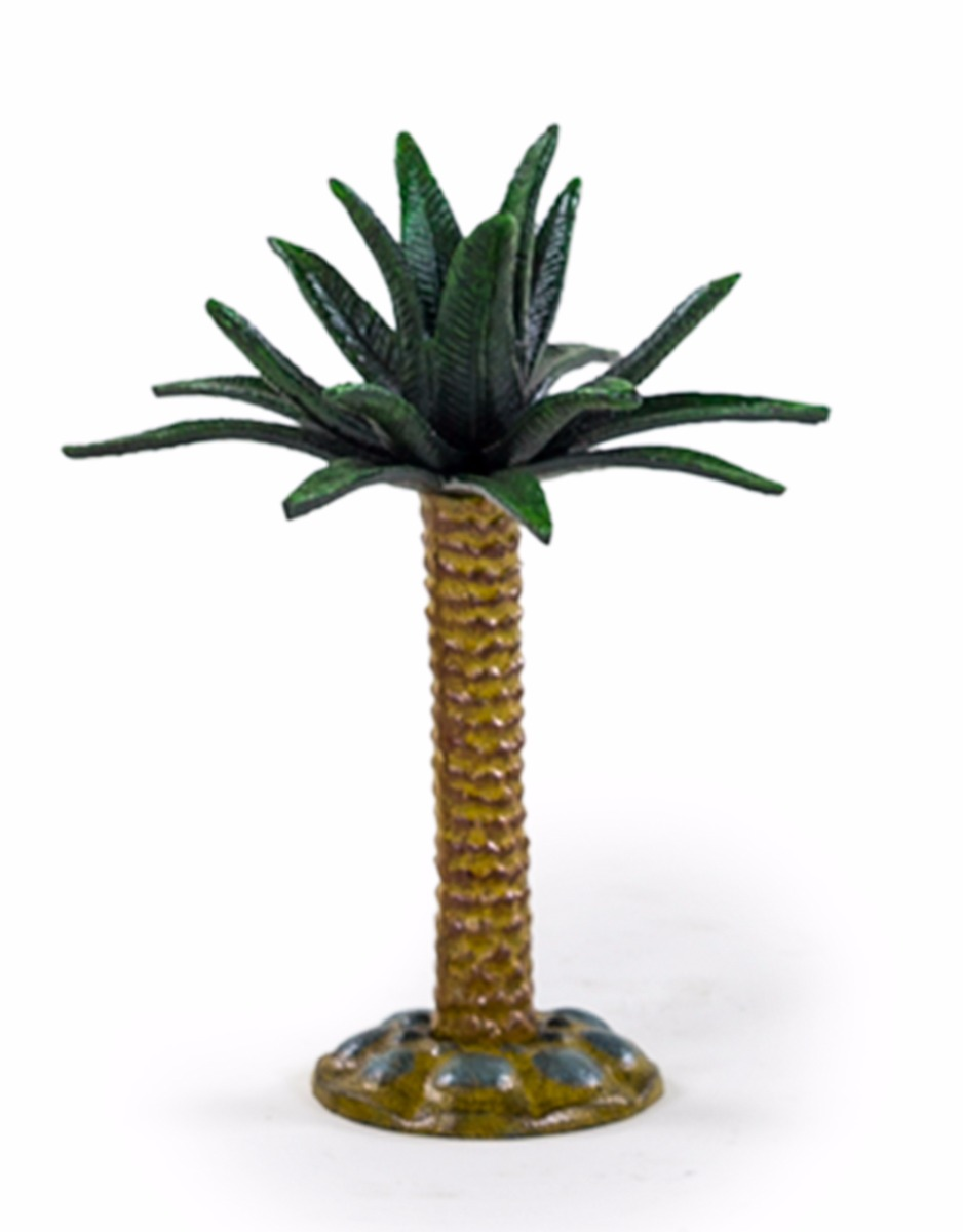 Cast Iron Small Palm Tree Candlestick