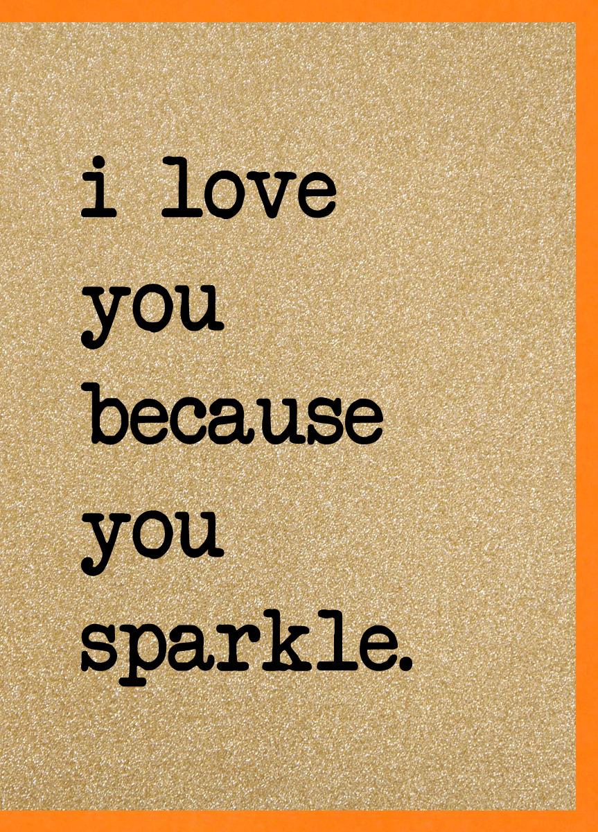 Love you Sparkle