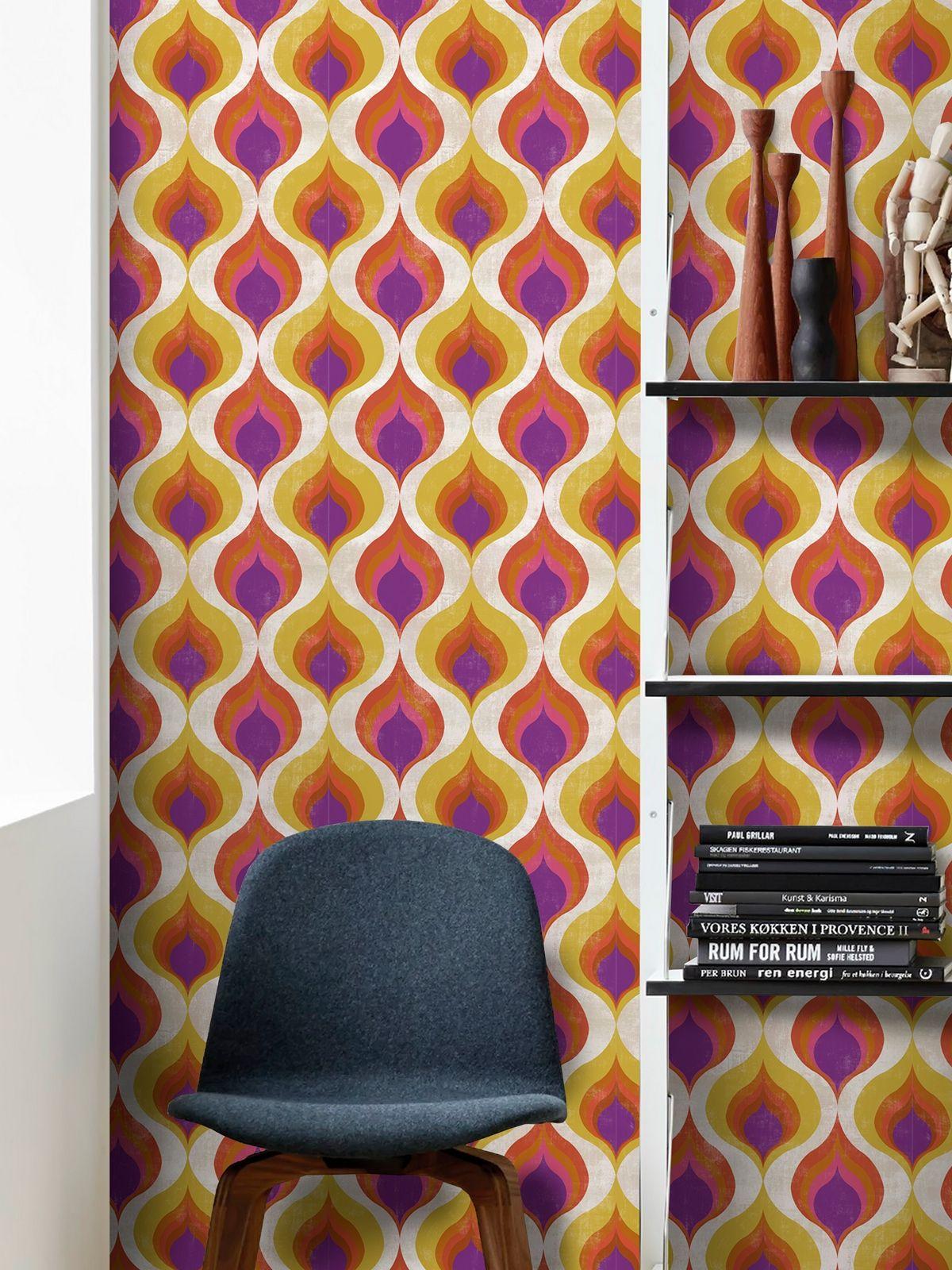 OTTOMAN PATTERN Premium Wallpaper