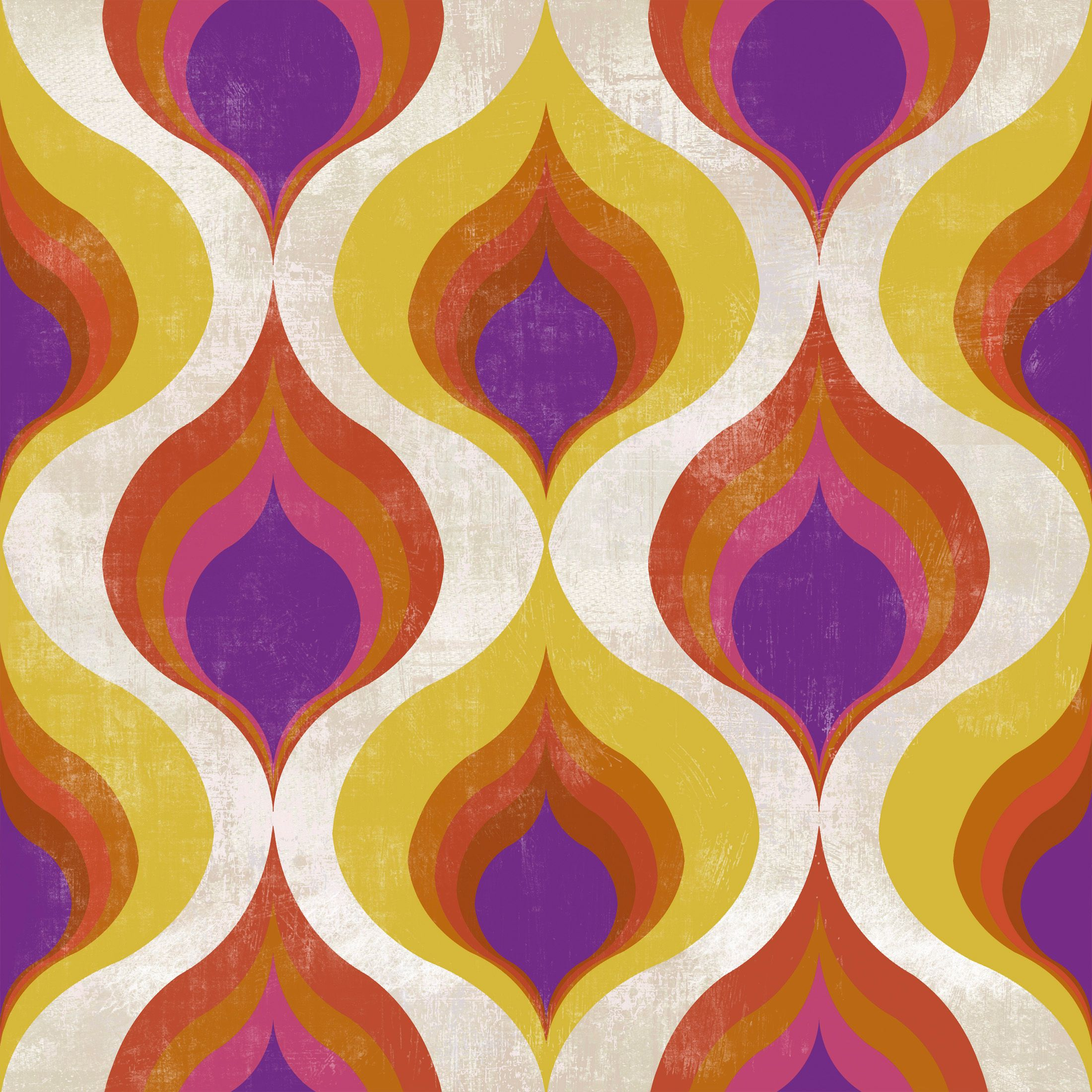 OTTOMAN PATTERN Premium Wallpaper