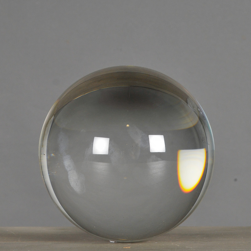 Extra Large Crystal Ball on Stand