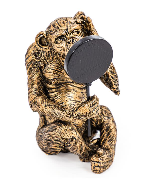Vain Monkey Antiqued Bronze