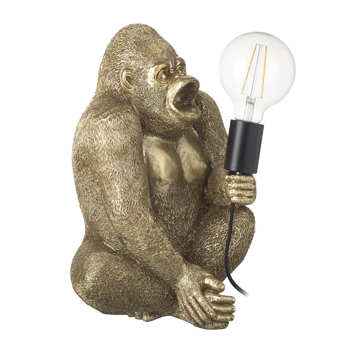 Gorilla Gold Table Lamp