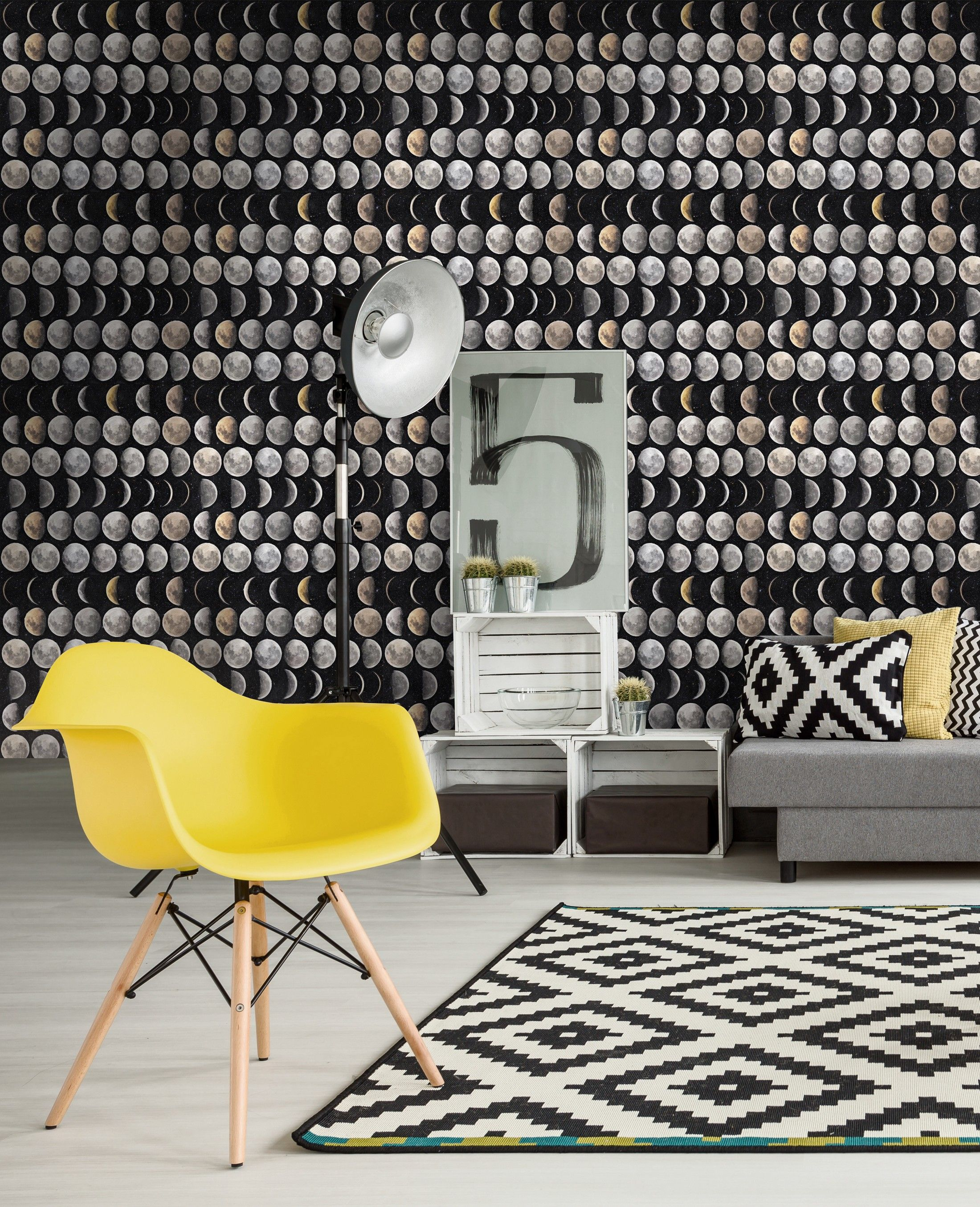 MOON PHASES Premium Wallpaper