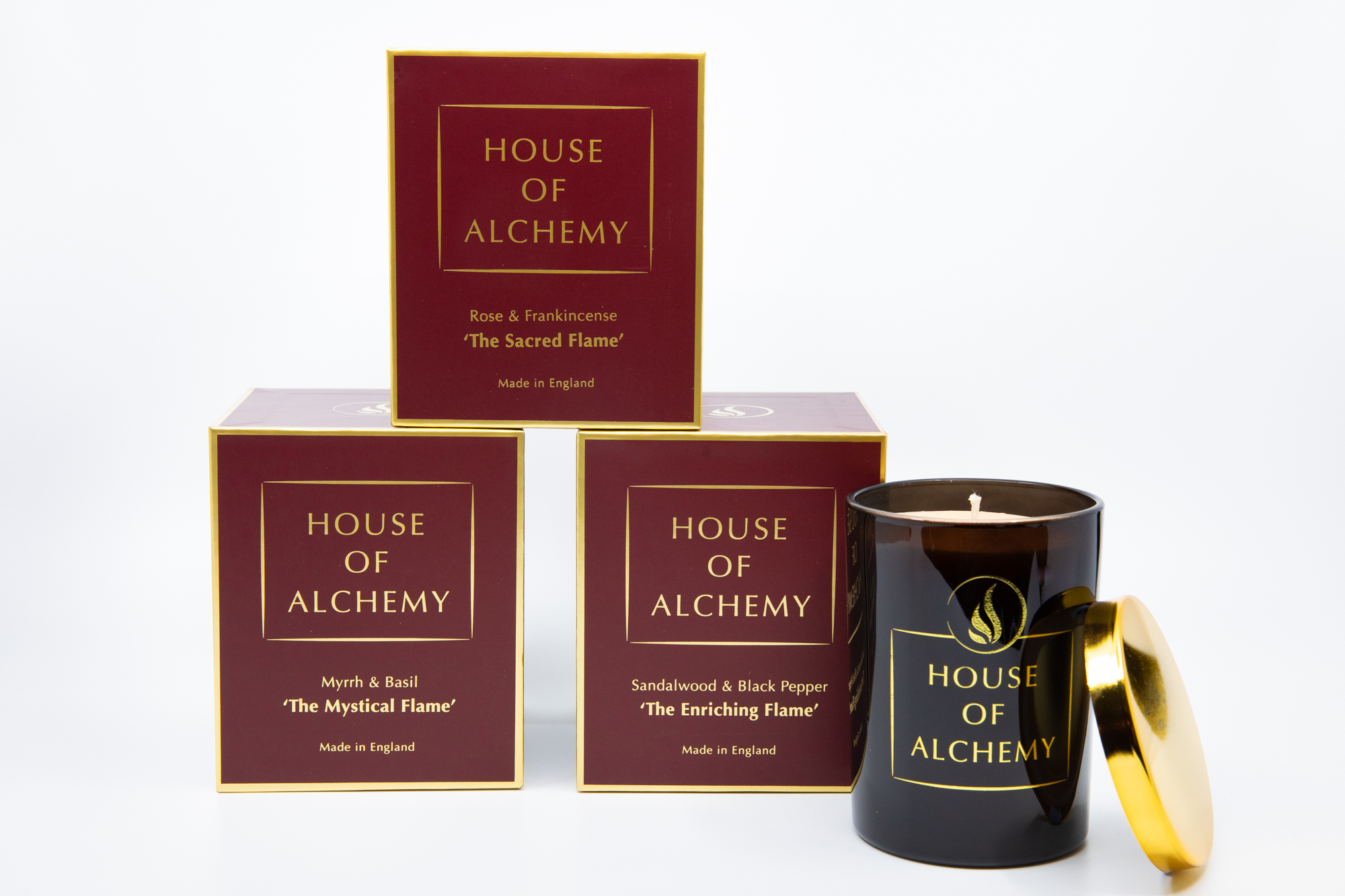 Enriching Flame 250g Sandalwood & Black Pepper Candle