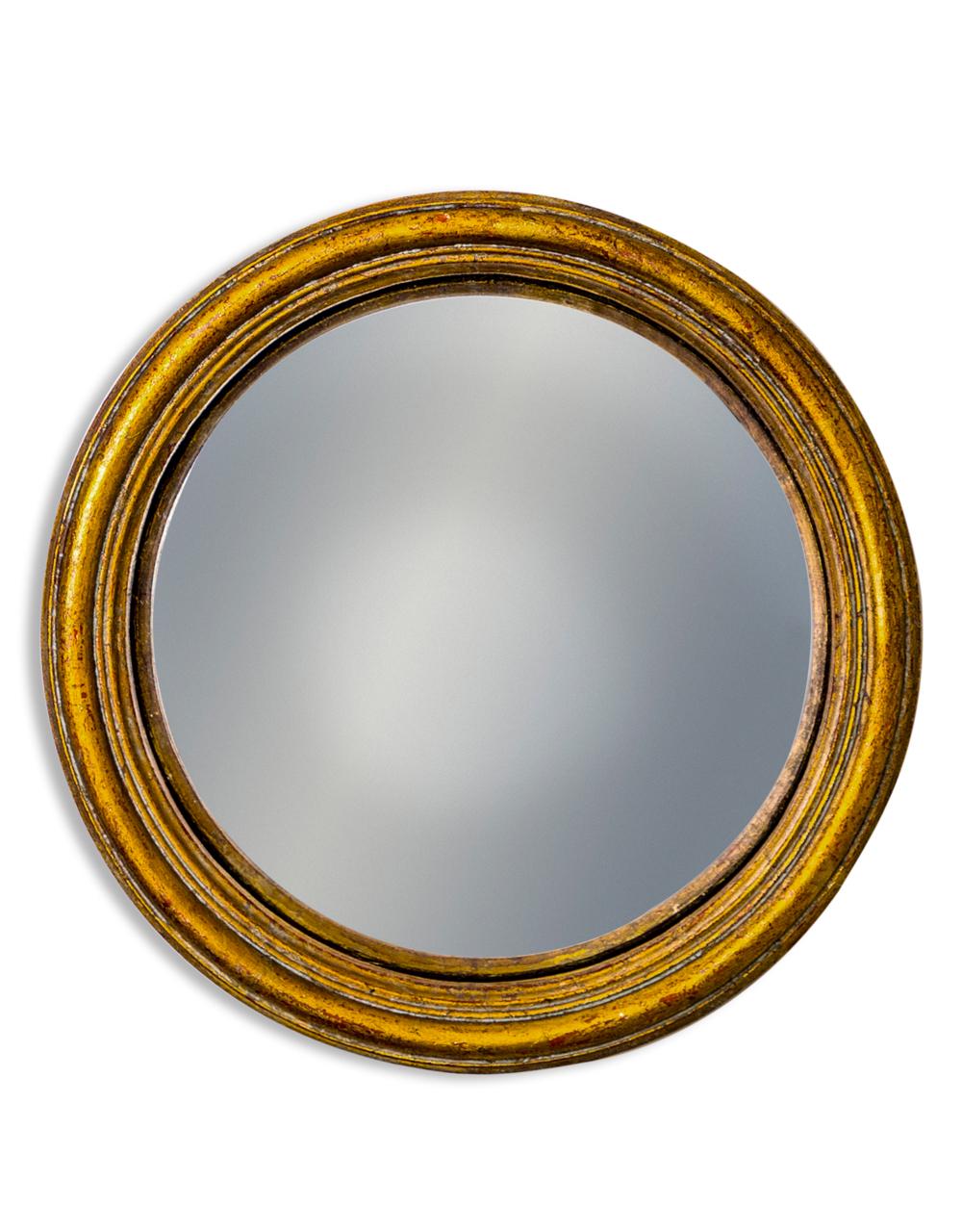 Gold Medium Convex Mirror