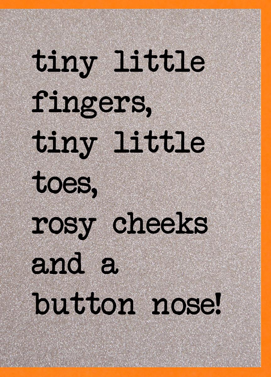 Tiny Fingers Card