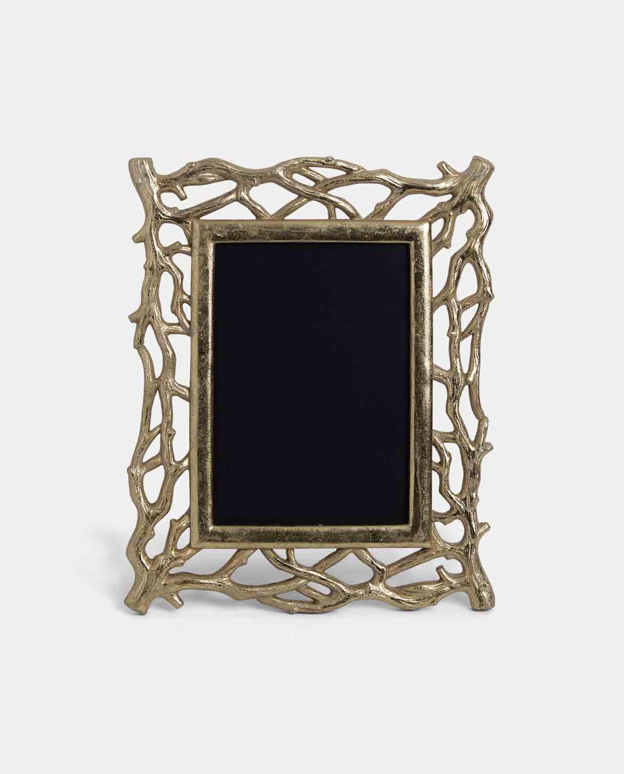 Large Gold Decoratorative Twig Photo Frame