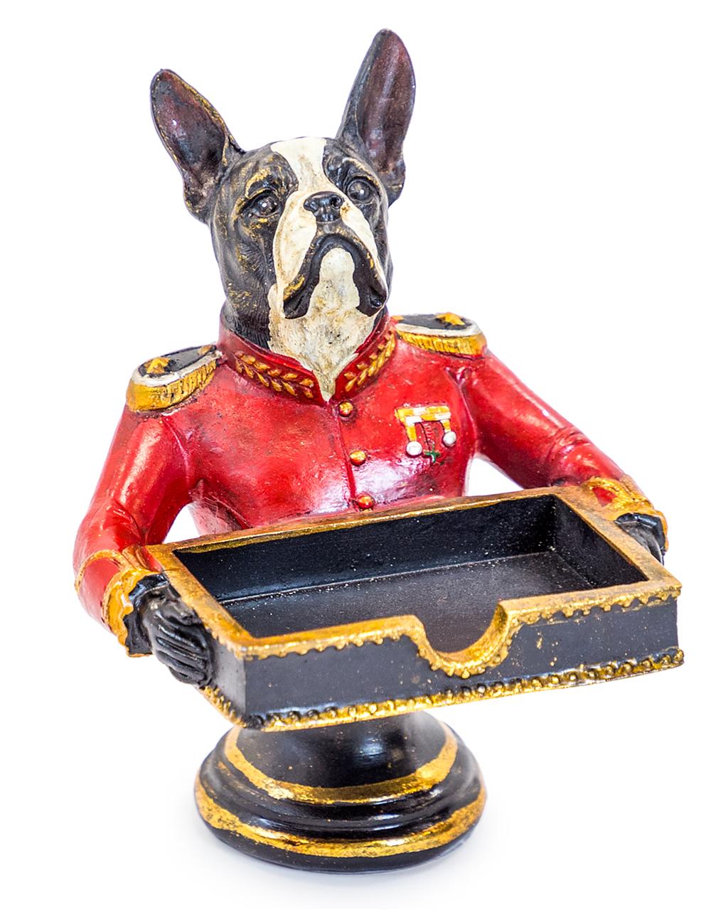 Gentry French Bulldog Card Holder