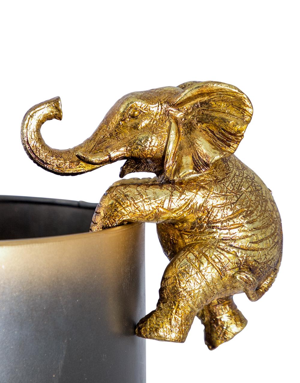 Gold Hanging Elephant