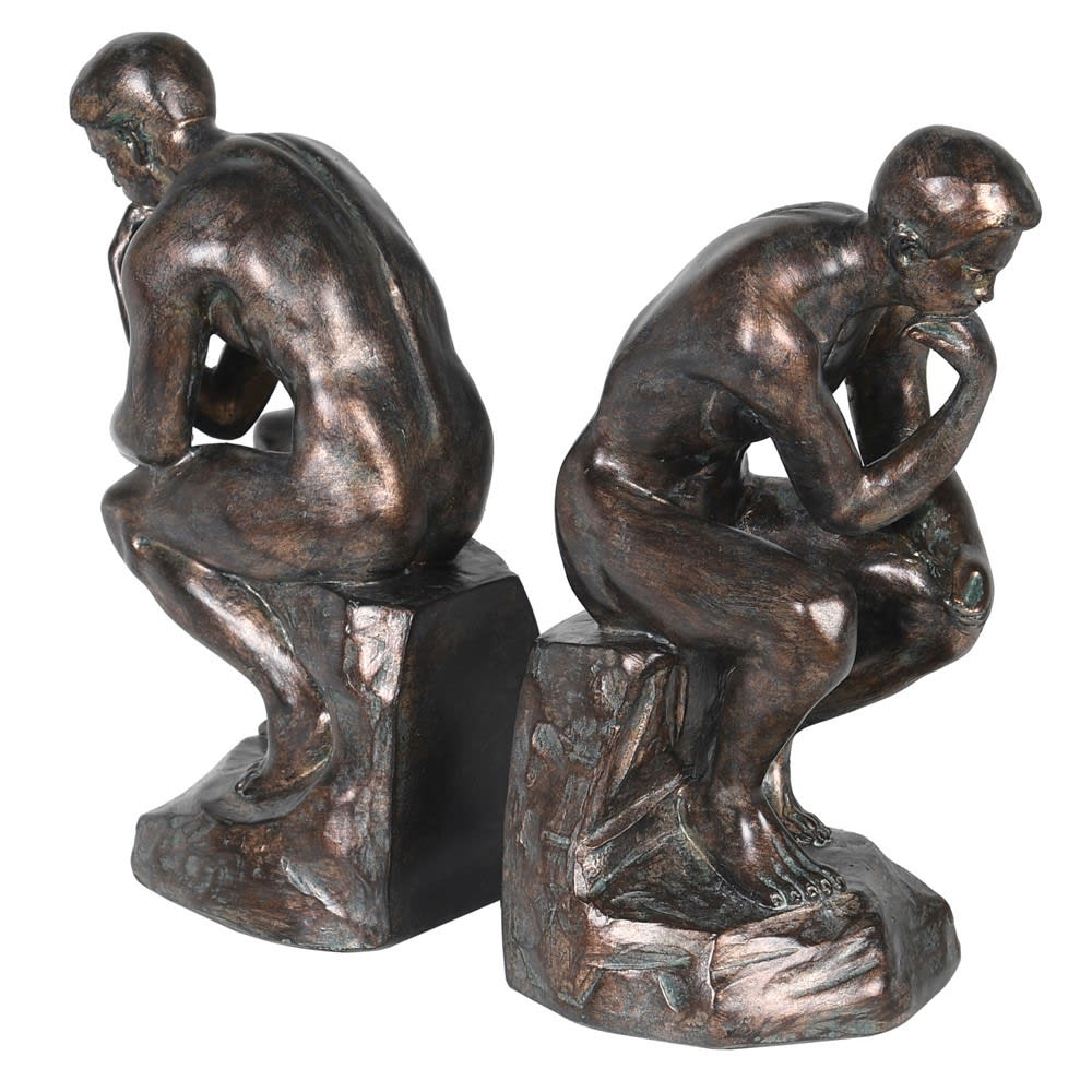 Pair Of Thinking Man Bookends