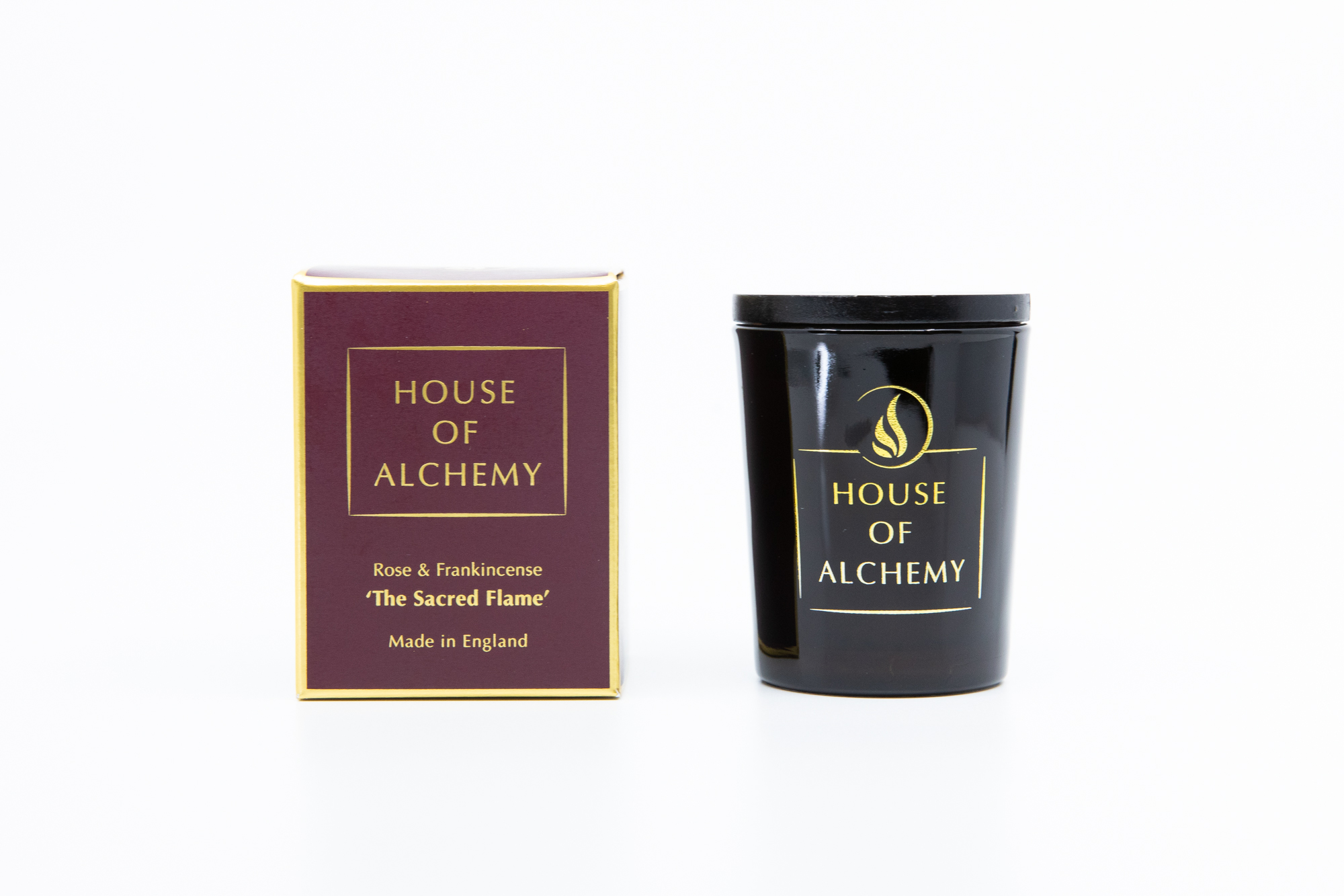 Sacred Flame Travel Candle 80g