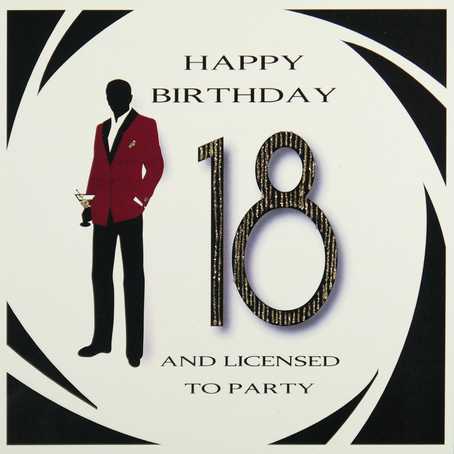 Happy 18th Licensed to Party