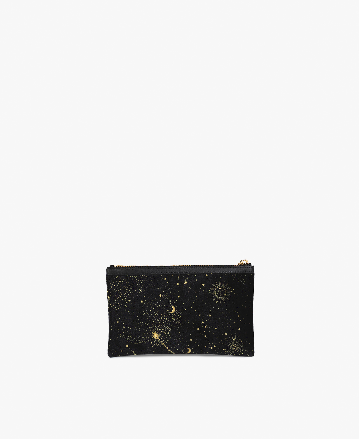 Galaxy Velvet Pocket Clutch
