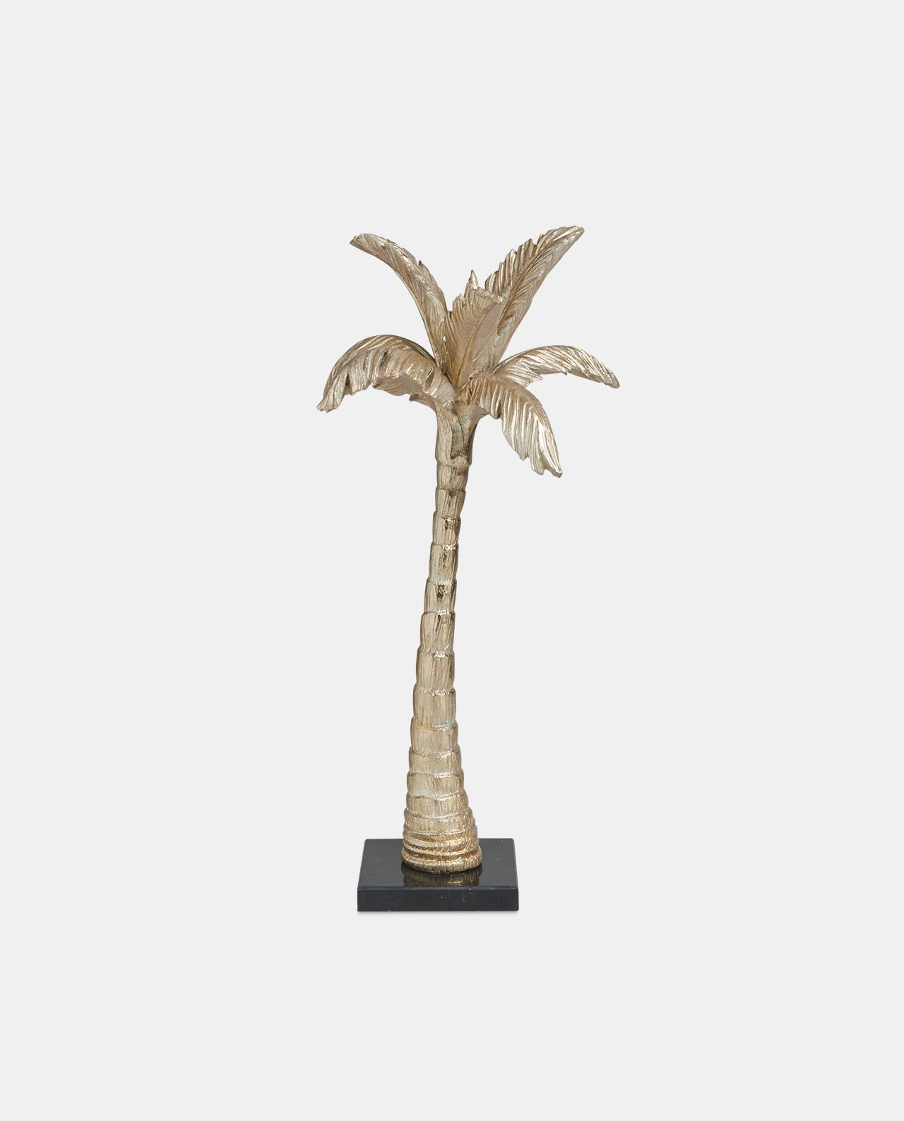Coconut Tree on Black Marble Base