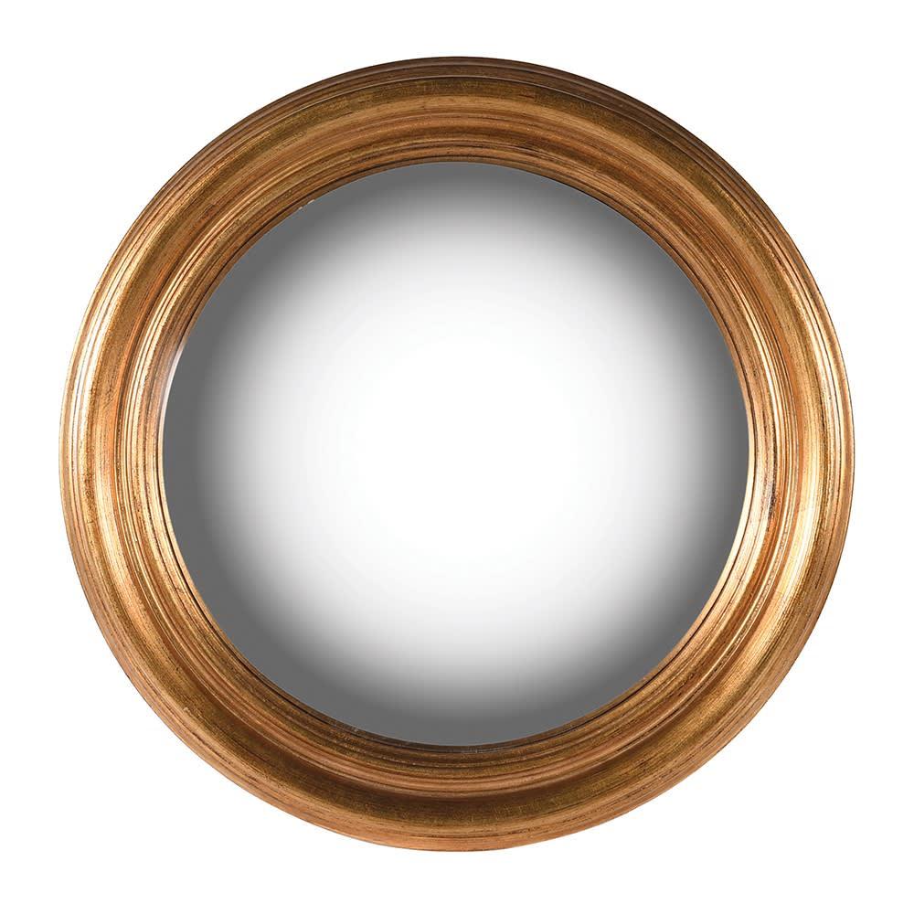 Atman Medium Gold Convex Mirror