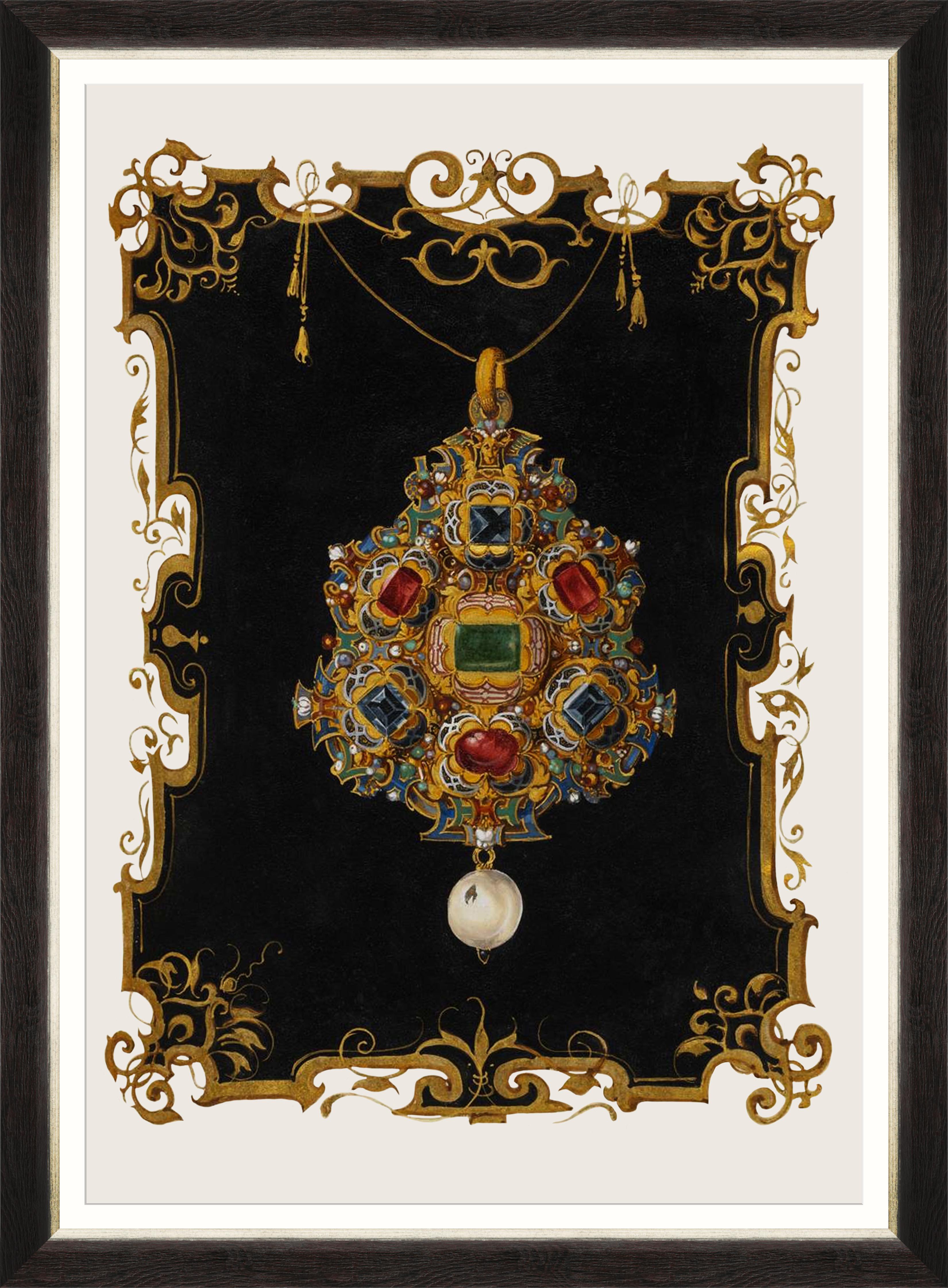 ANNA'S JEWELRY II Framed Print