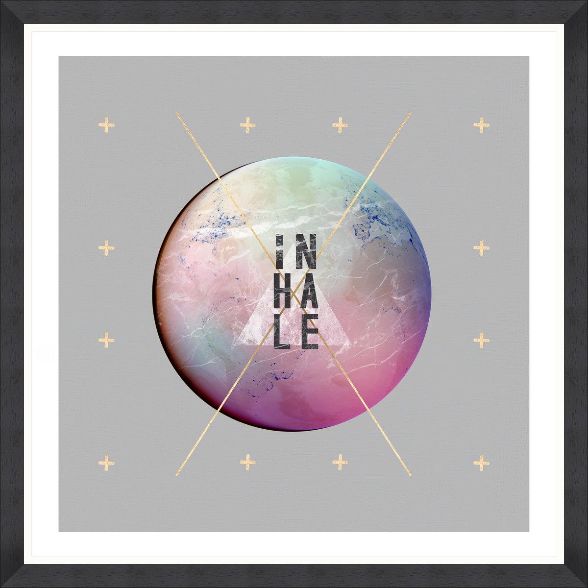 Inhale Framed Print