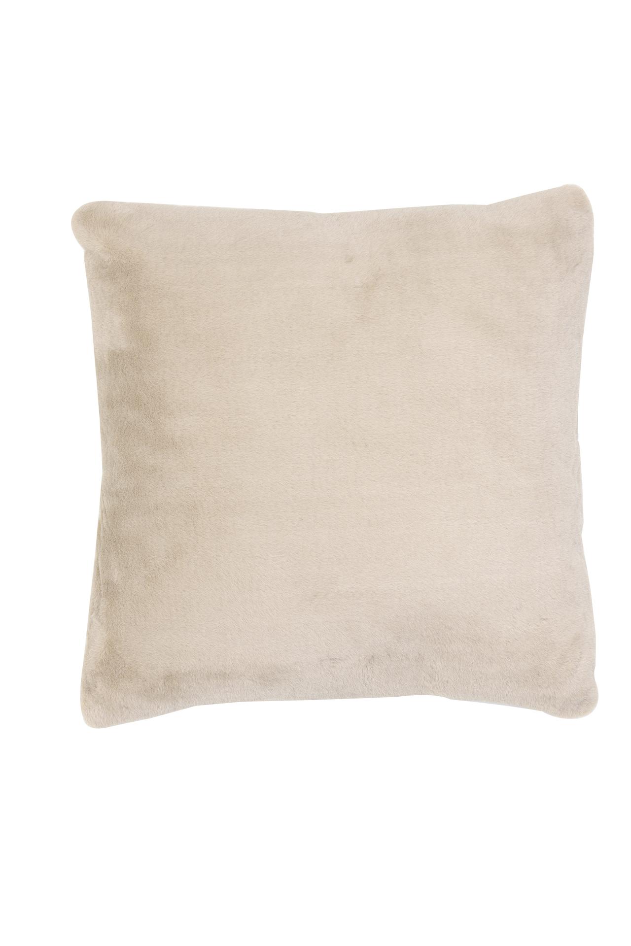 Faux Fur Caramel Cushion