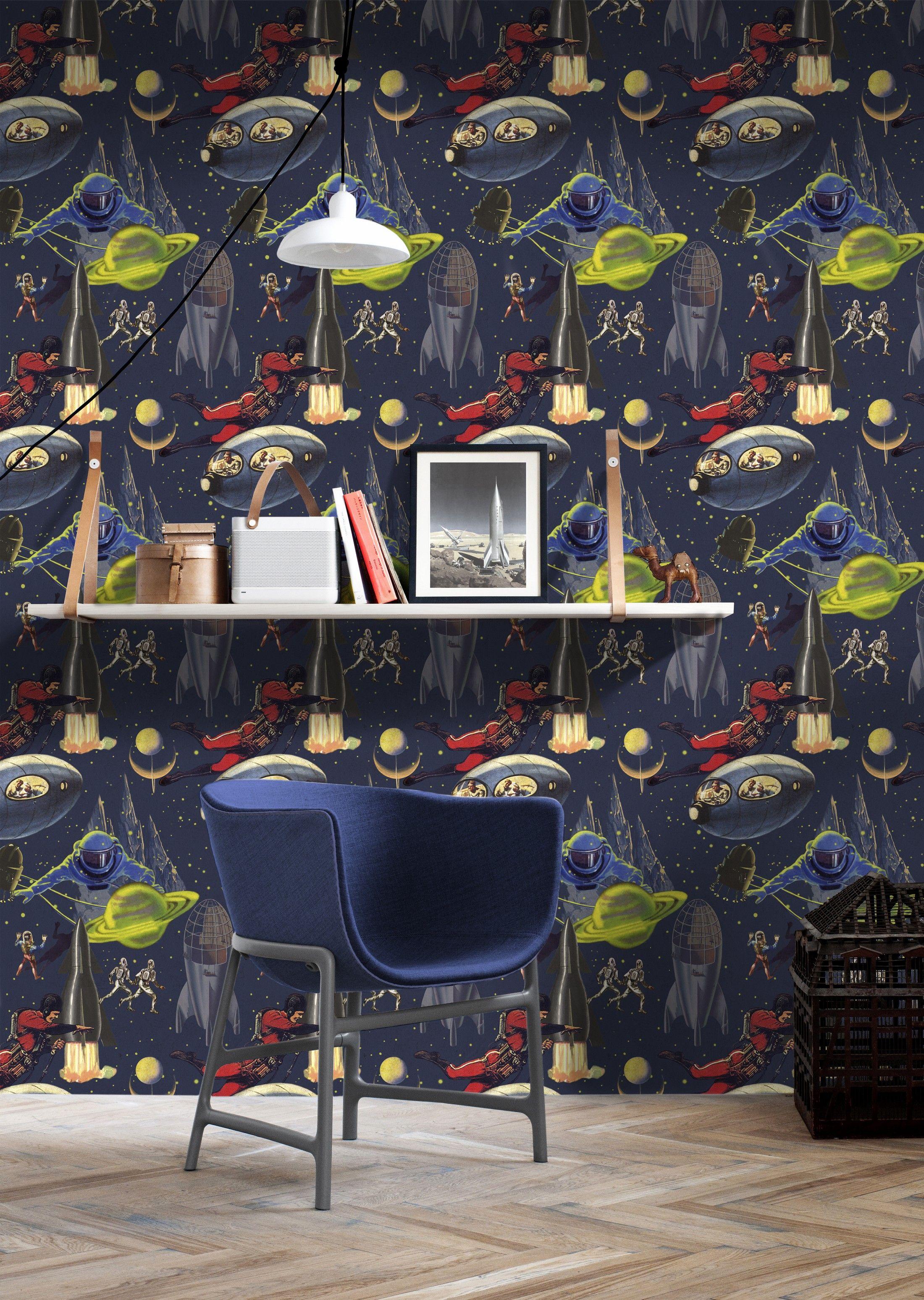 INTERGALACTIC Premium Wallpaper