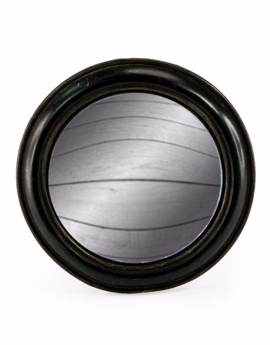 Black Framed Convex Mirror