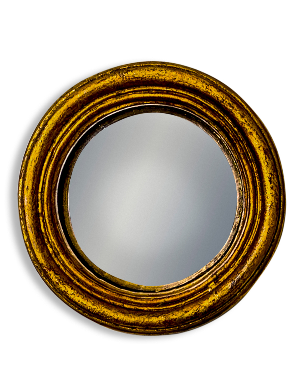 Gold Extra Small Convex Mirror
