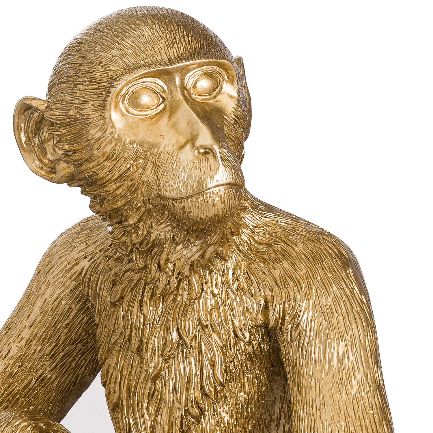 George Monkey Gold Table Lamp