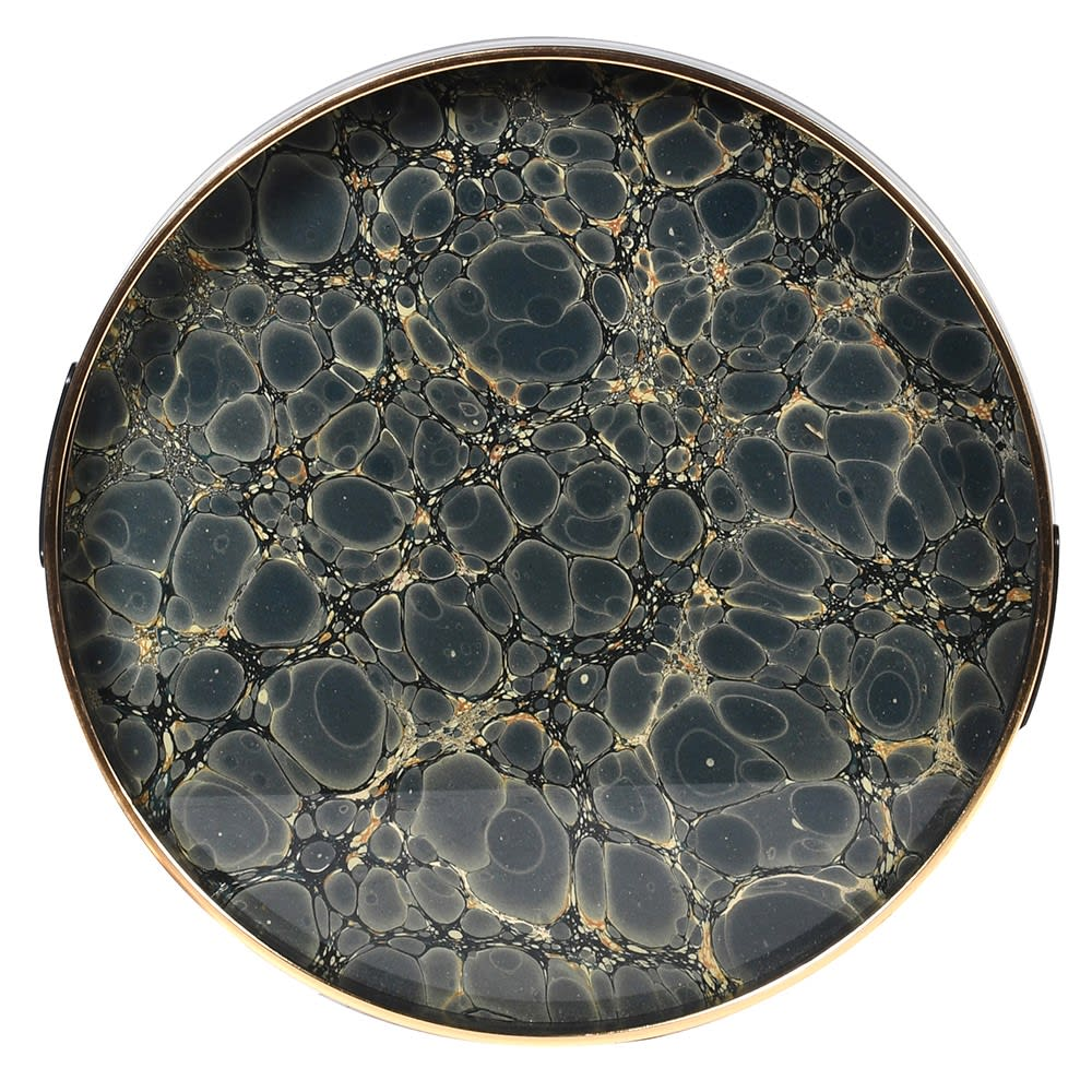 Mottled Marble Effect Tray