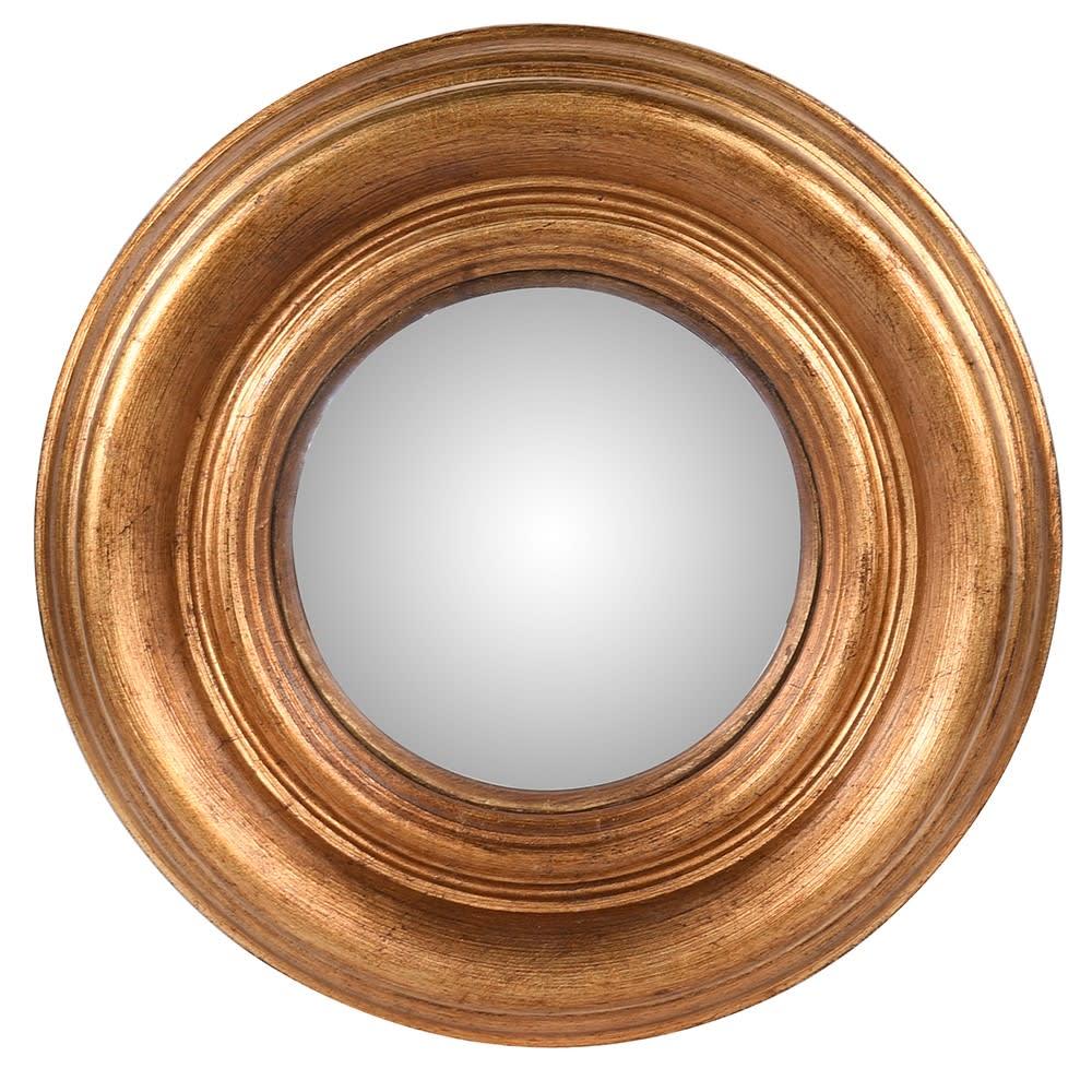 Atman Small Gold Convex Mirror